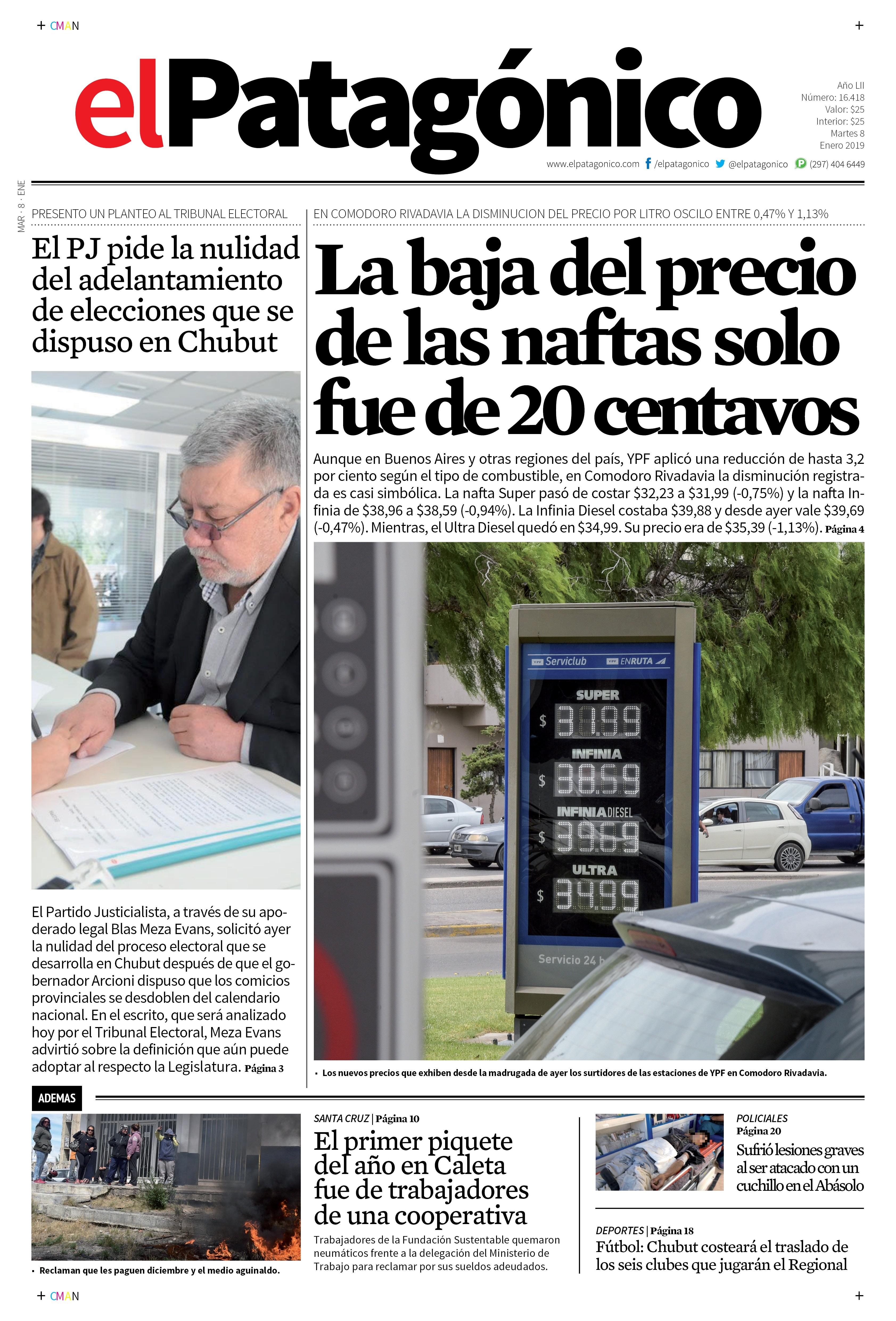 Diario 08 01 2019