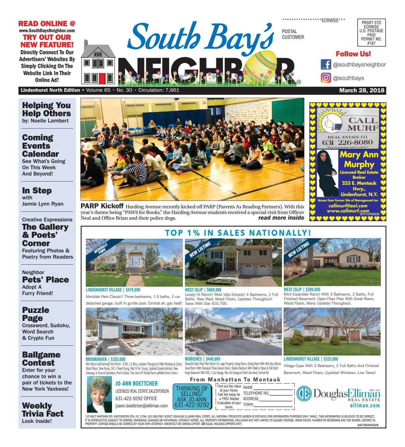 March 28th 2018 Lindenhurst North by South Bay s Neighbor Newspapers issuu