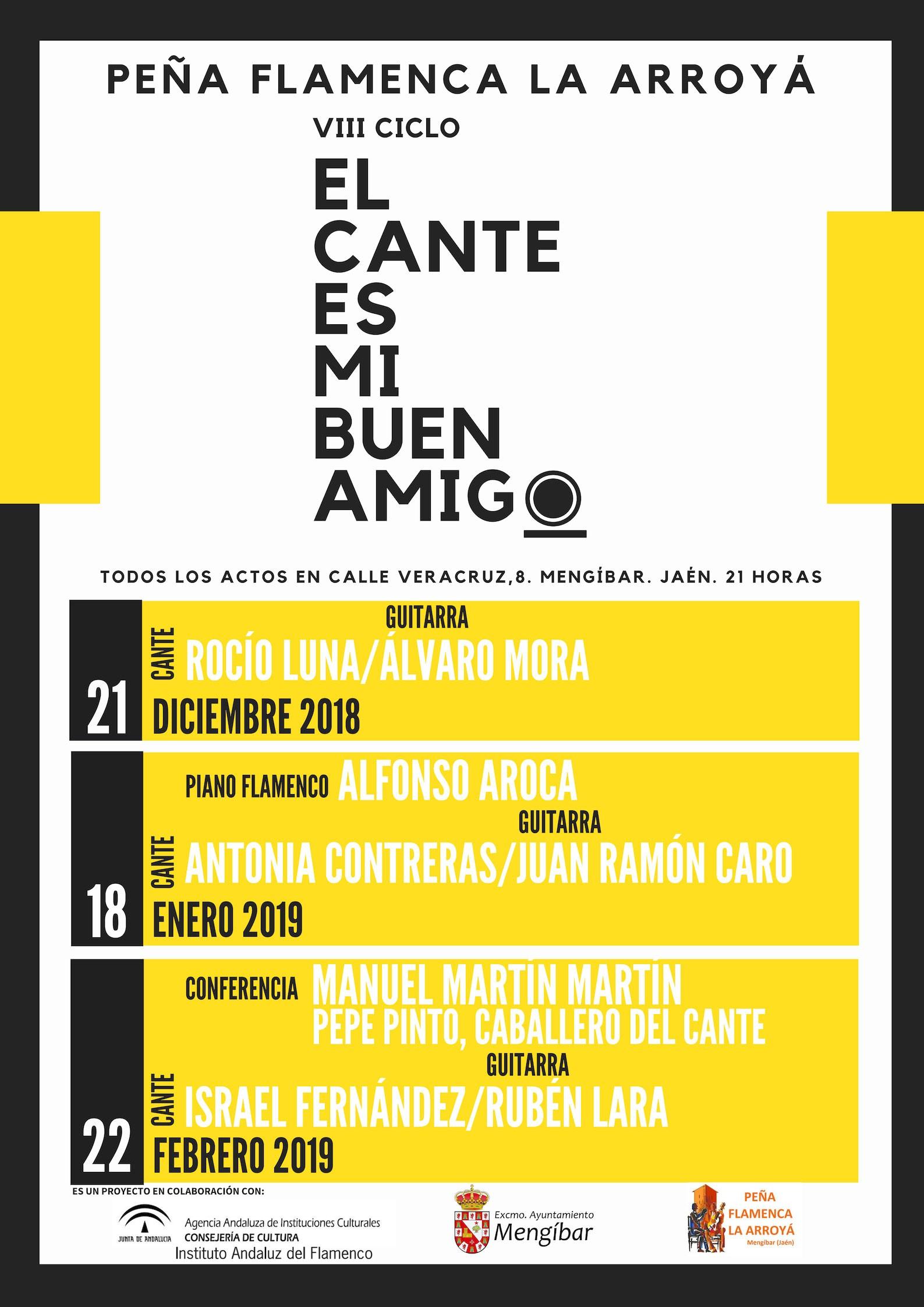 VIII CICLO EL CANTE ES MI BUEN AMIGO 2000