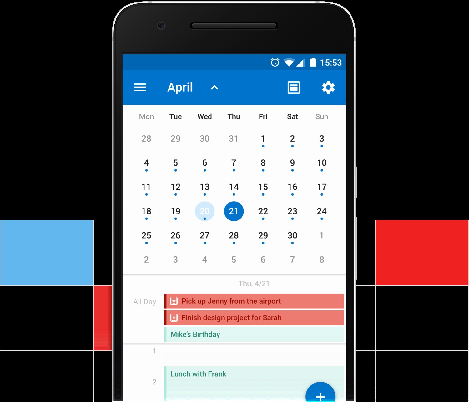 Outlook Calendario android 2019 Introducing the Wunderlist Calendar App for Outlook