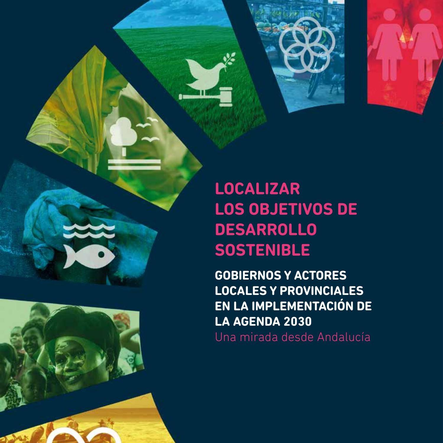 Localizar los objetivos de desarrollo sostenible Gobiernos by Alianza por la Solidaridad Andaluca issuu