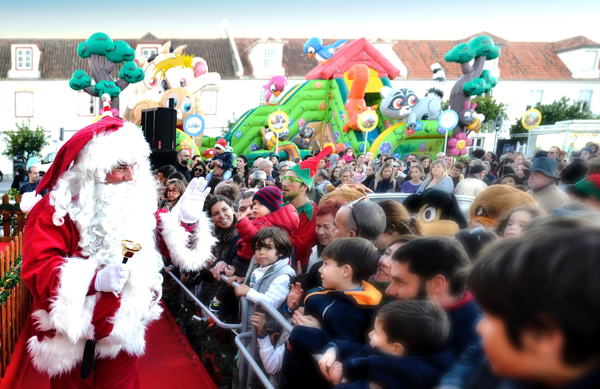 Vila Real de Santo Ant³nio celebra a quadra natalcia