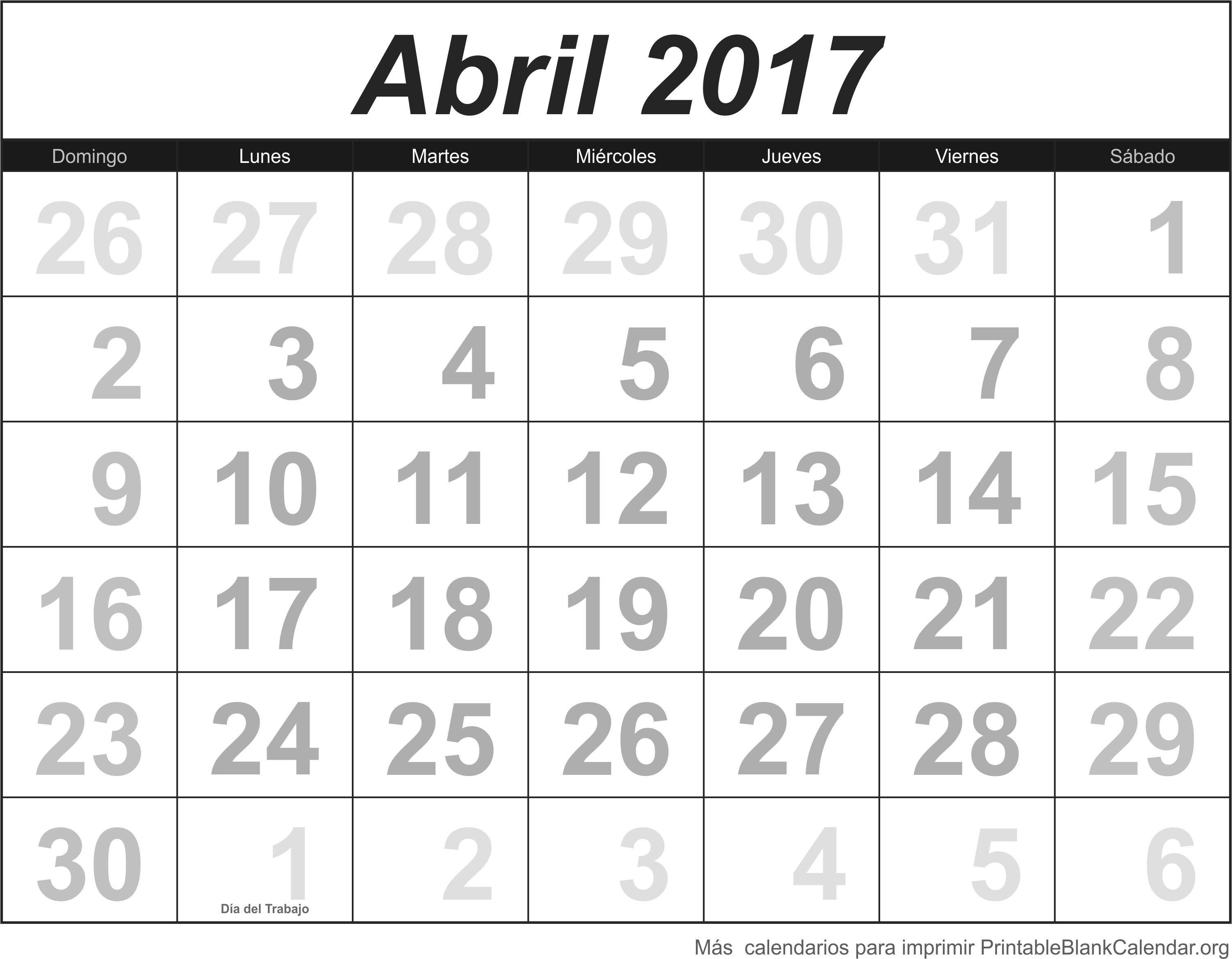 Imagenes De Calendarios Calendario Para Imprimir Abril