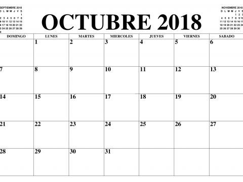 Calendario Febrero 2018 Con Dibujos Recientes Best Calendario Mes De Octubre Y Noviembre 2018 Image Collection