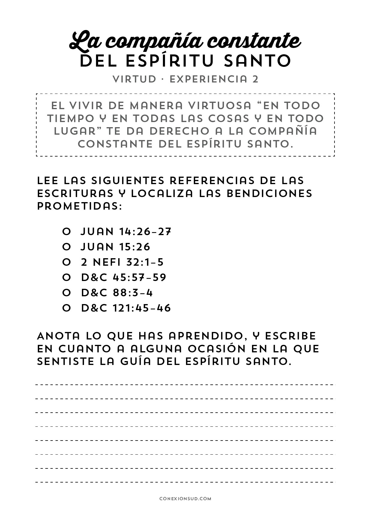Calendario Febrero 2019 Con Santoral Más Actual Virtud 2 Espiritu Santo Conexionsud Of Calendario Febrero 2019 Con Santoral Más Populares Clp 2018 2019 Pages 101 150 Text Version