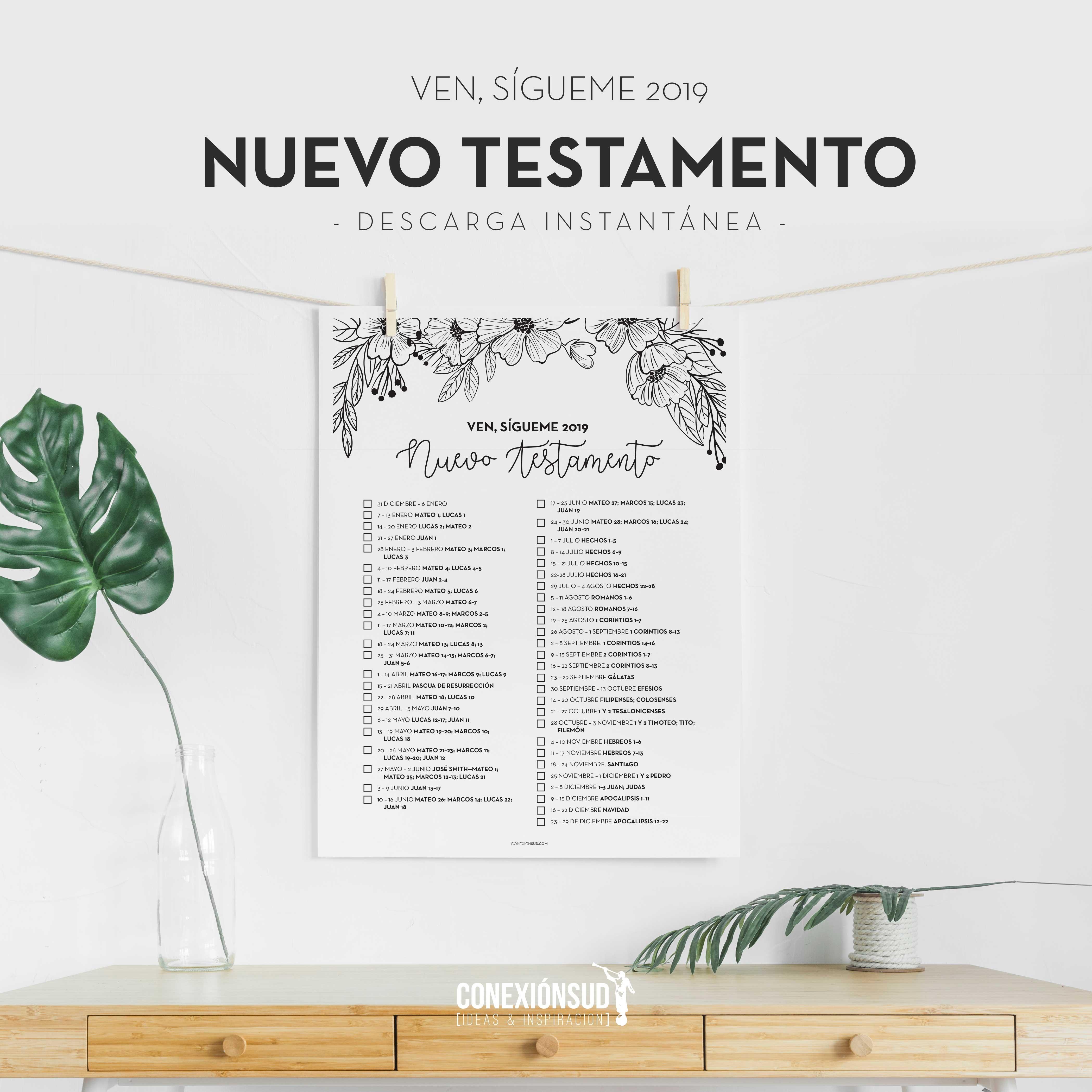 Ven Sgueme 2019 El Nuevo Testamento