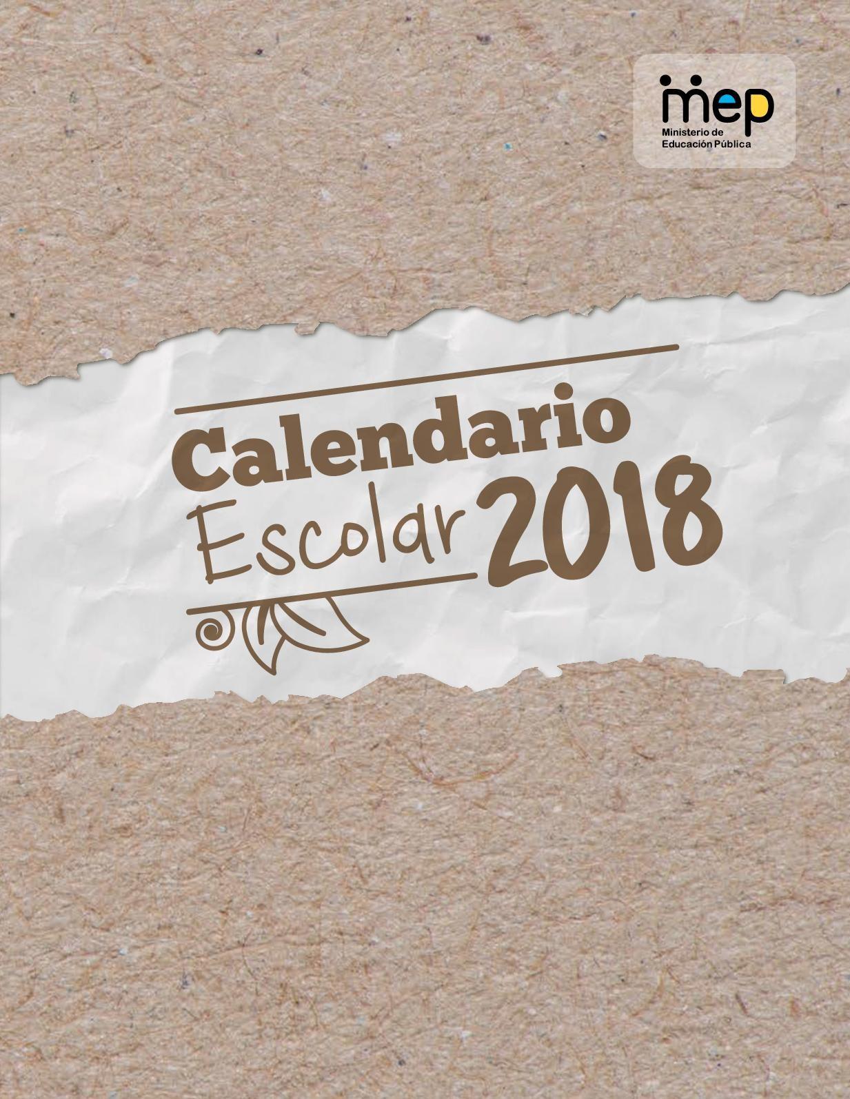 Calendario Febrero 2019 La Nacion Mejores Y Más Novedosos Calaméo Calendario Escolar 2018