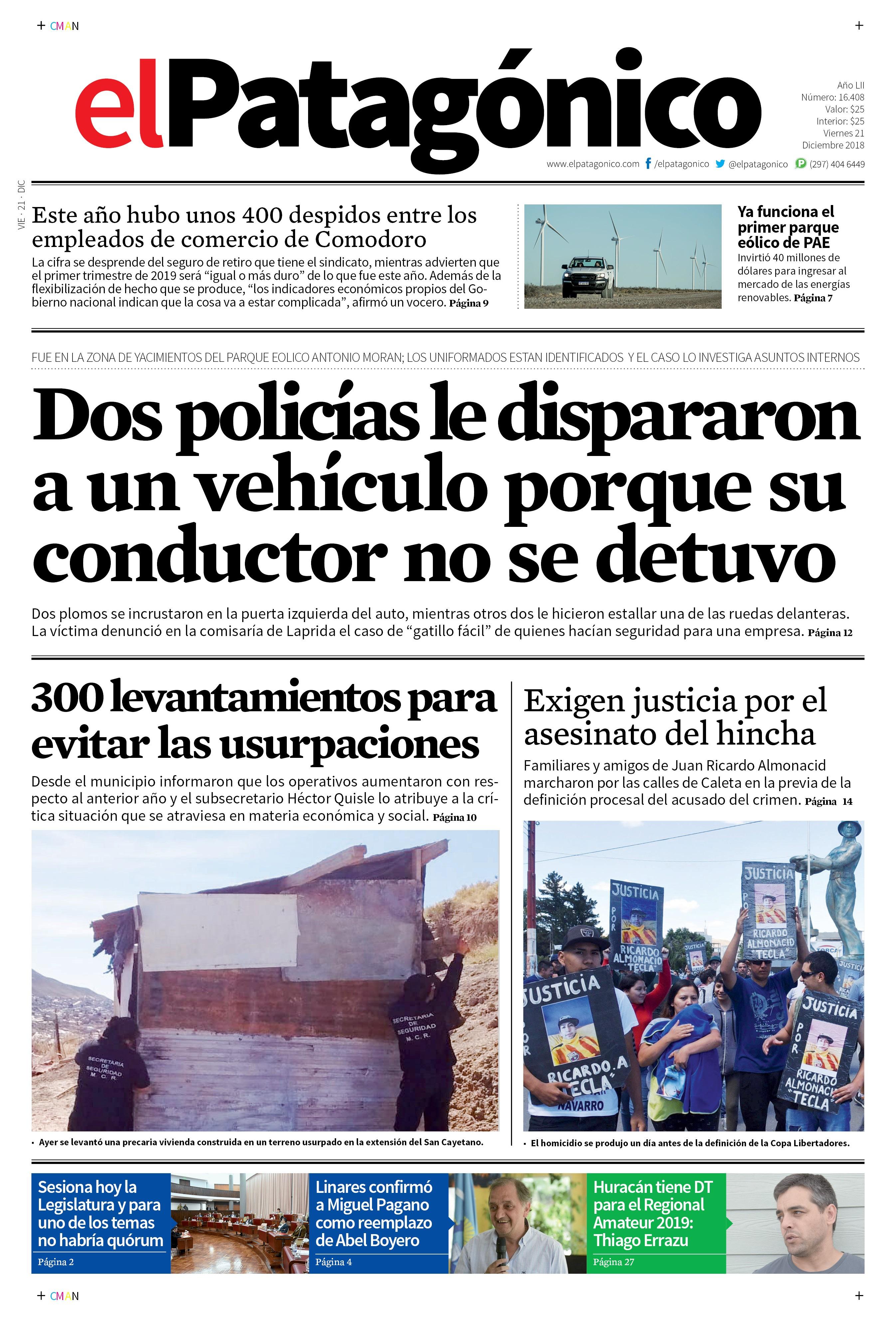 Diario 21 12 2018