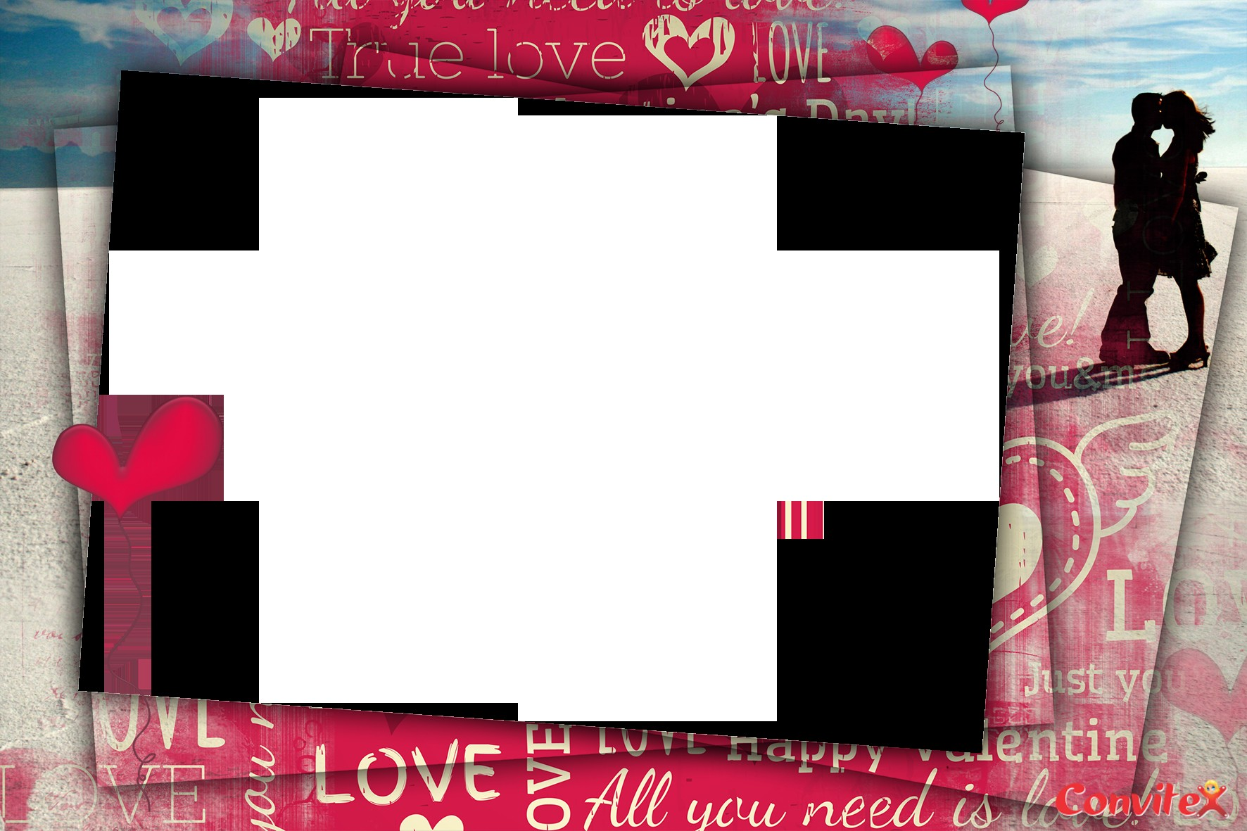 Cart£o para o dia dos namorados Dicas para fazer ou imprimir Portal Tudo Aqui