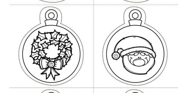 Calendario Frozen 2017 Para Imprimir Recientes Decora Tu Clase Divertidas Bolas De Navidad Para Imprimir Y Colorear