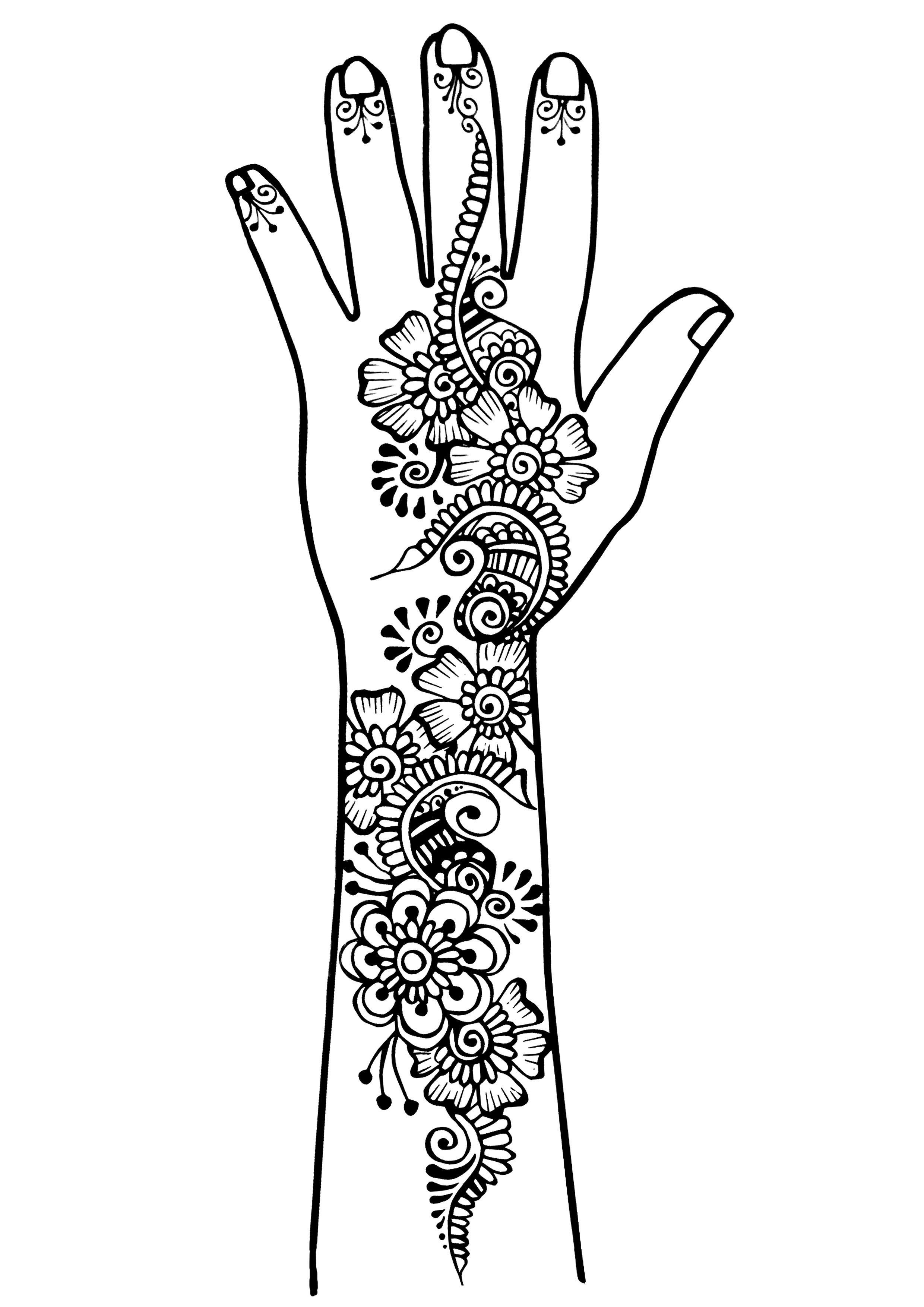 tatuajes tatuajes colorear para adultos