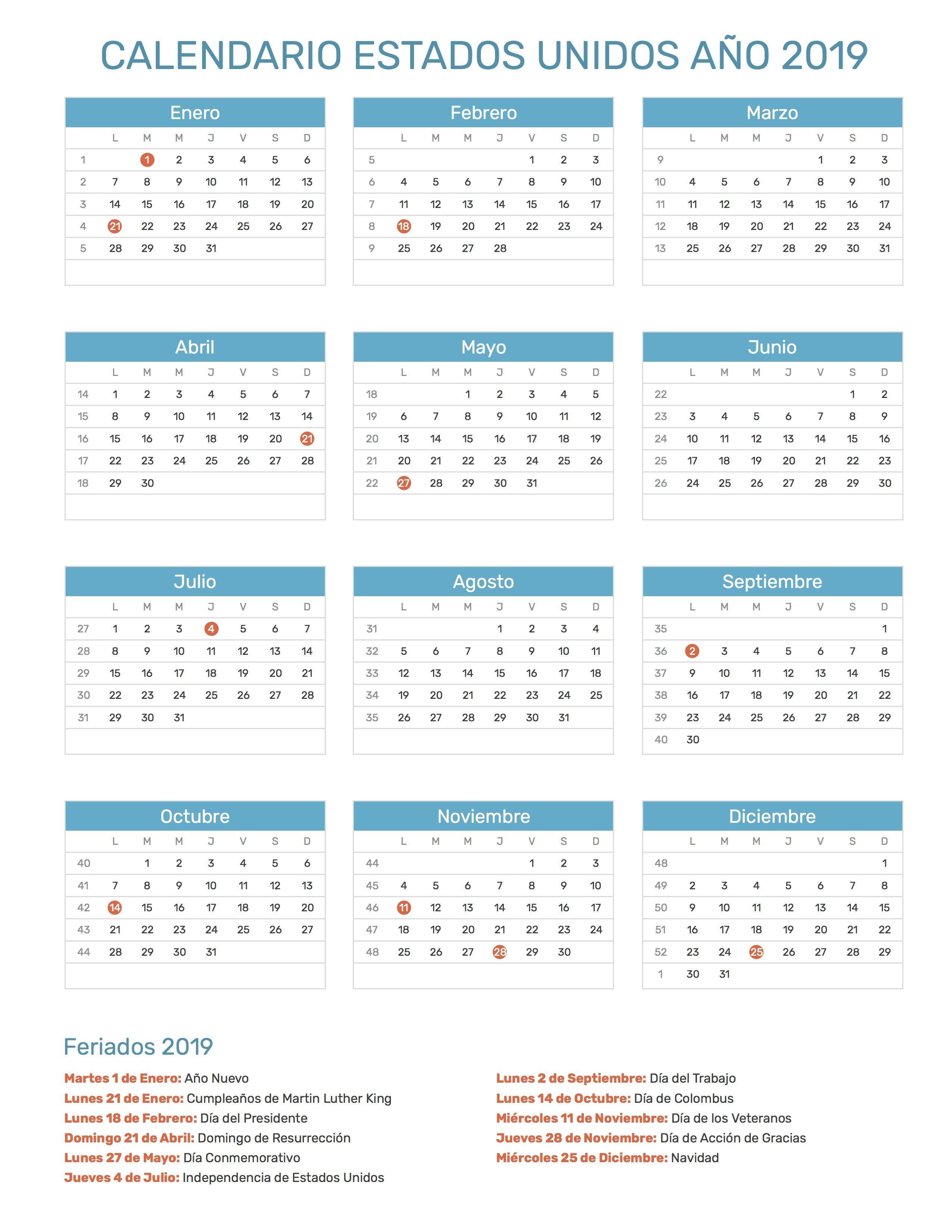 Calendario Infantil Para Imprimir Agosto 2019 Más Caliente Pin De Calendario Hispano En Calendario Con Feriados A±o 2019