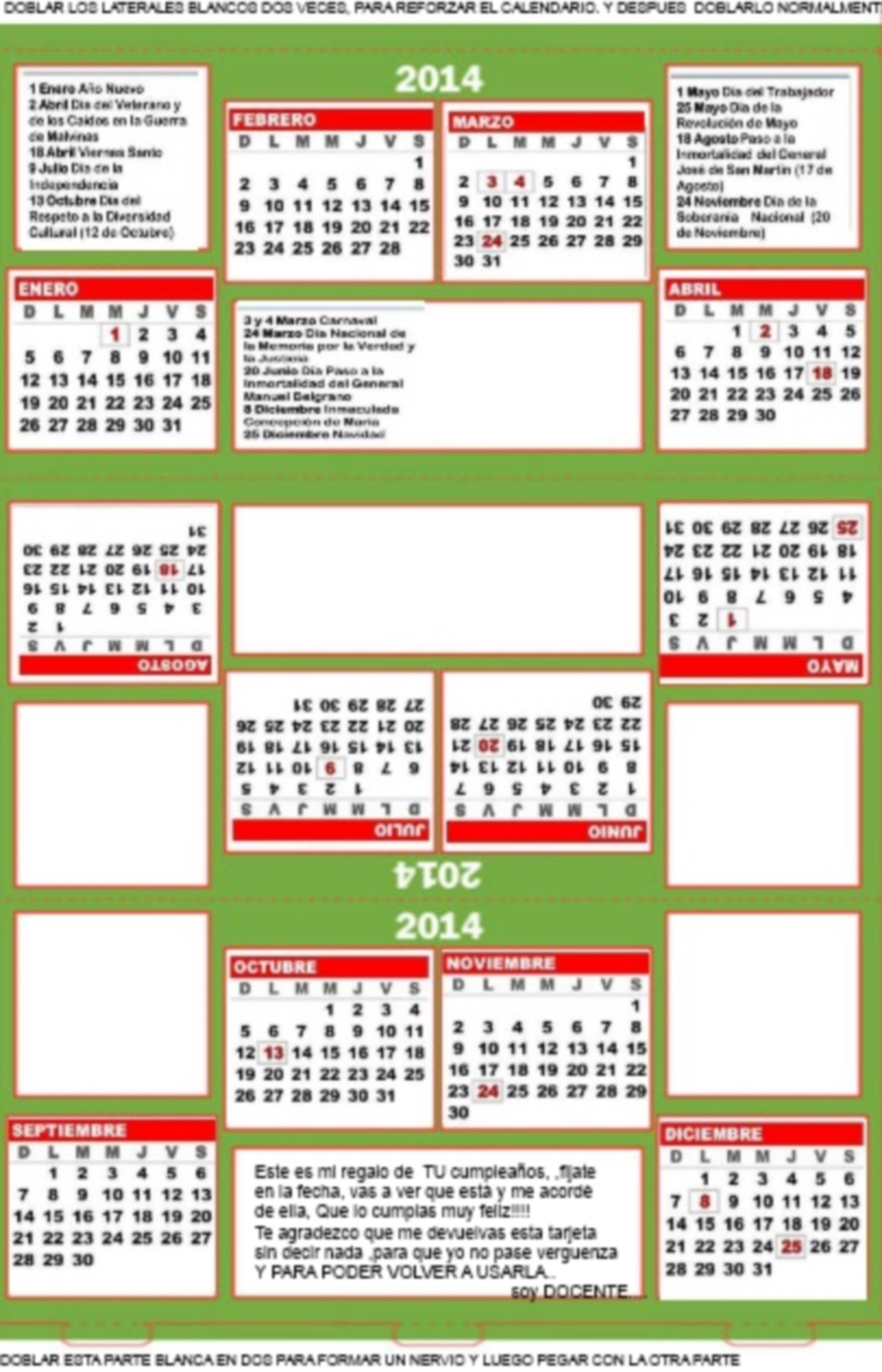 cumple calendario carpa