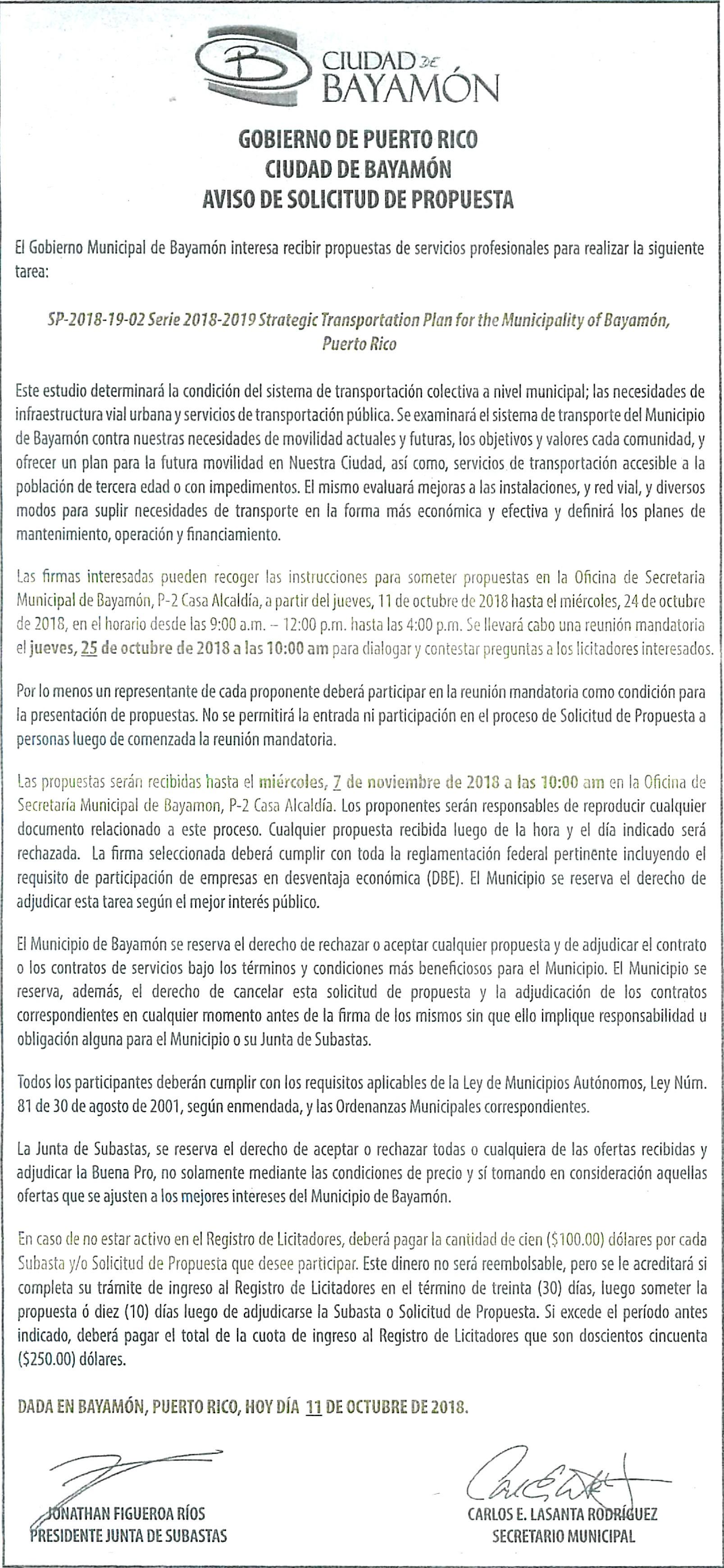 Calendario Junio Julio Agosto Septiembre 2019 Para Imprimir Más Recientes Avisos Pºblicos Ciudad De Bayam³n