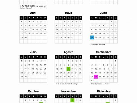 Seg Social Calendario Laboral.Calendario Laboral Seguridad Social Calendario 2019