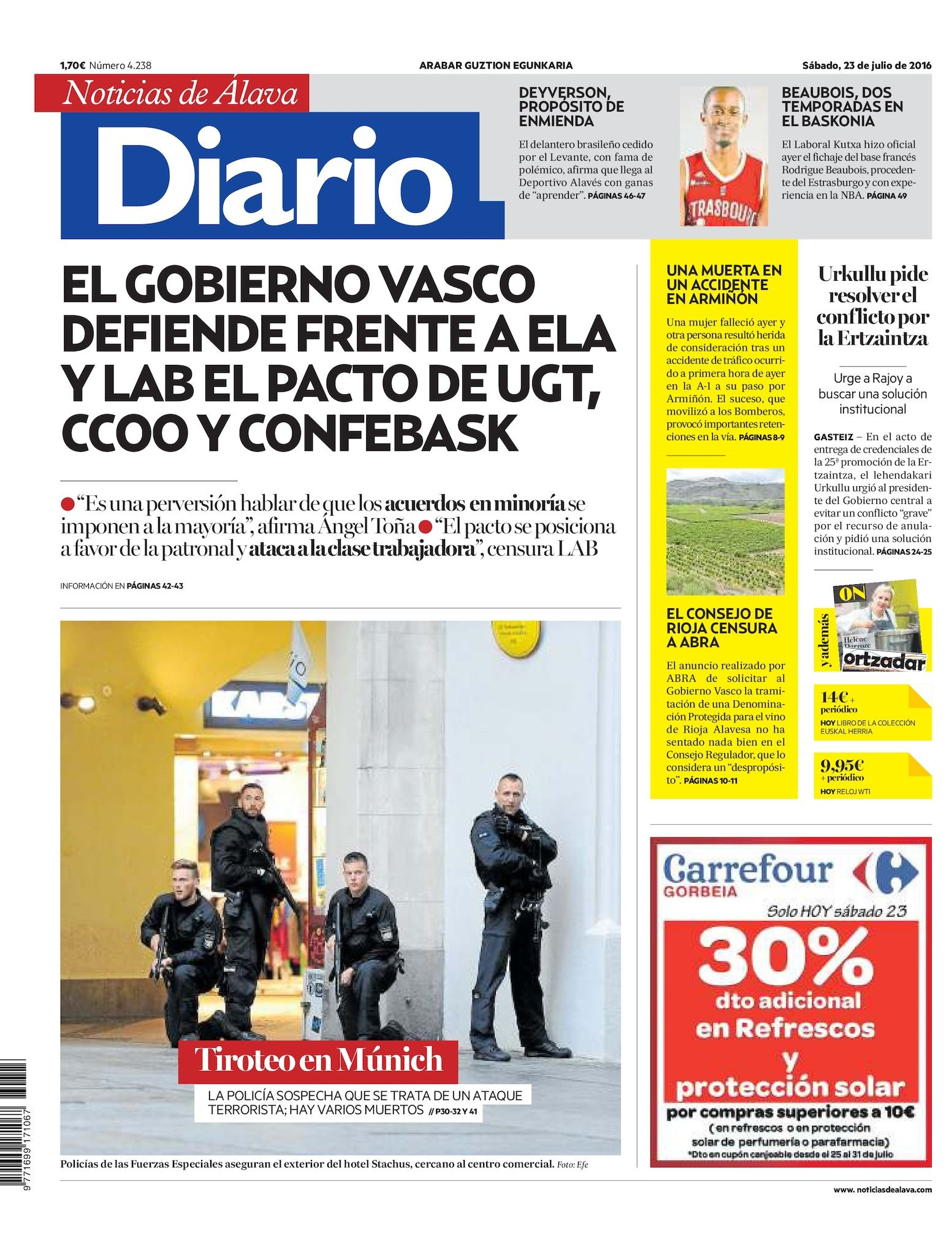 Calendario Laboral 2019 Alicante Ugt Más Recientes Calaméo Diario De Noticias De lava