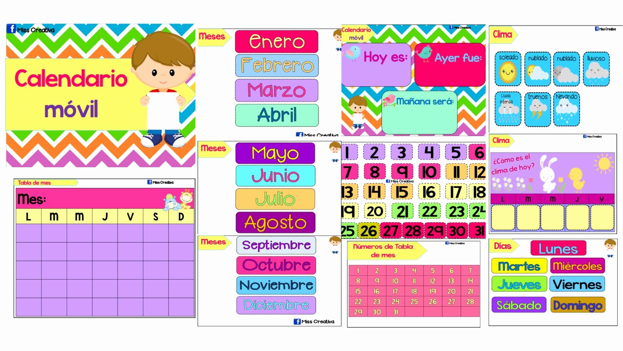 recuperar calendario movil 2019 recuperar calendario movil 2019 fabuloso calendario movil material primaria