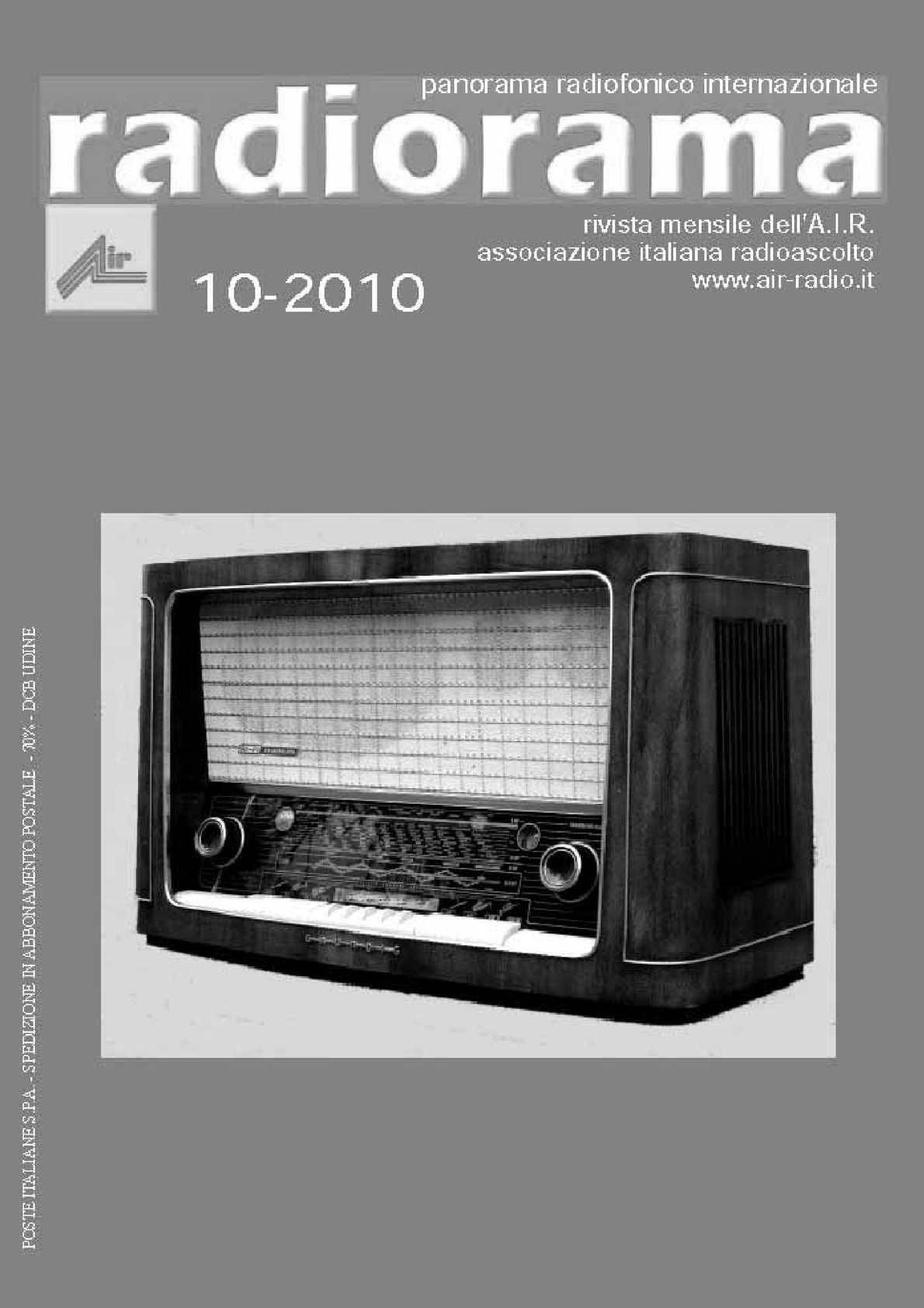 Calaméo Radiorama Ottobre 2010