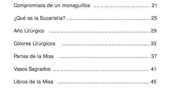 Calendario Liturgico 2019 Mexico Más Caliente Manual Del Monaguillo Calameo Downloader