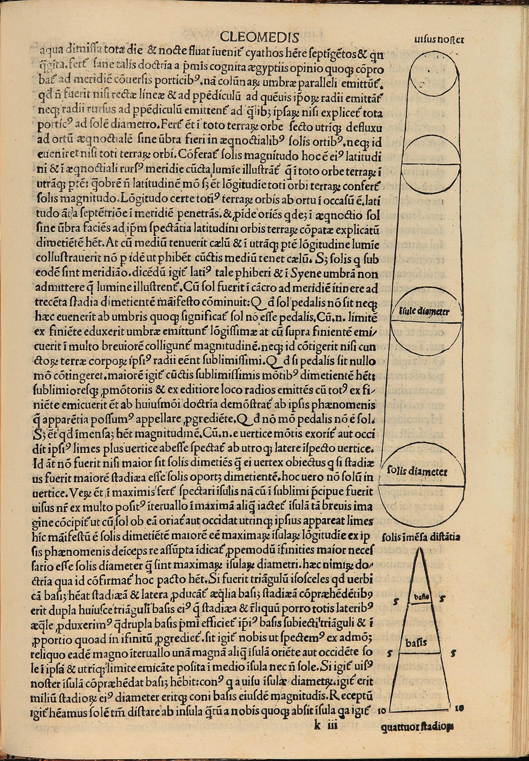 De mundo diagrammi astronomici