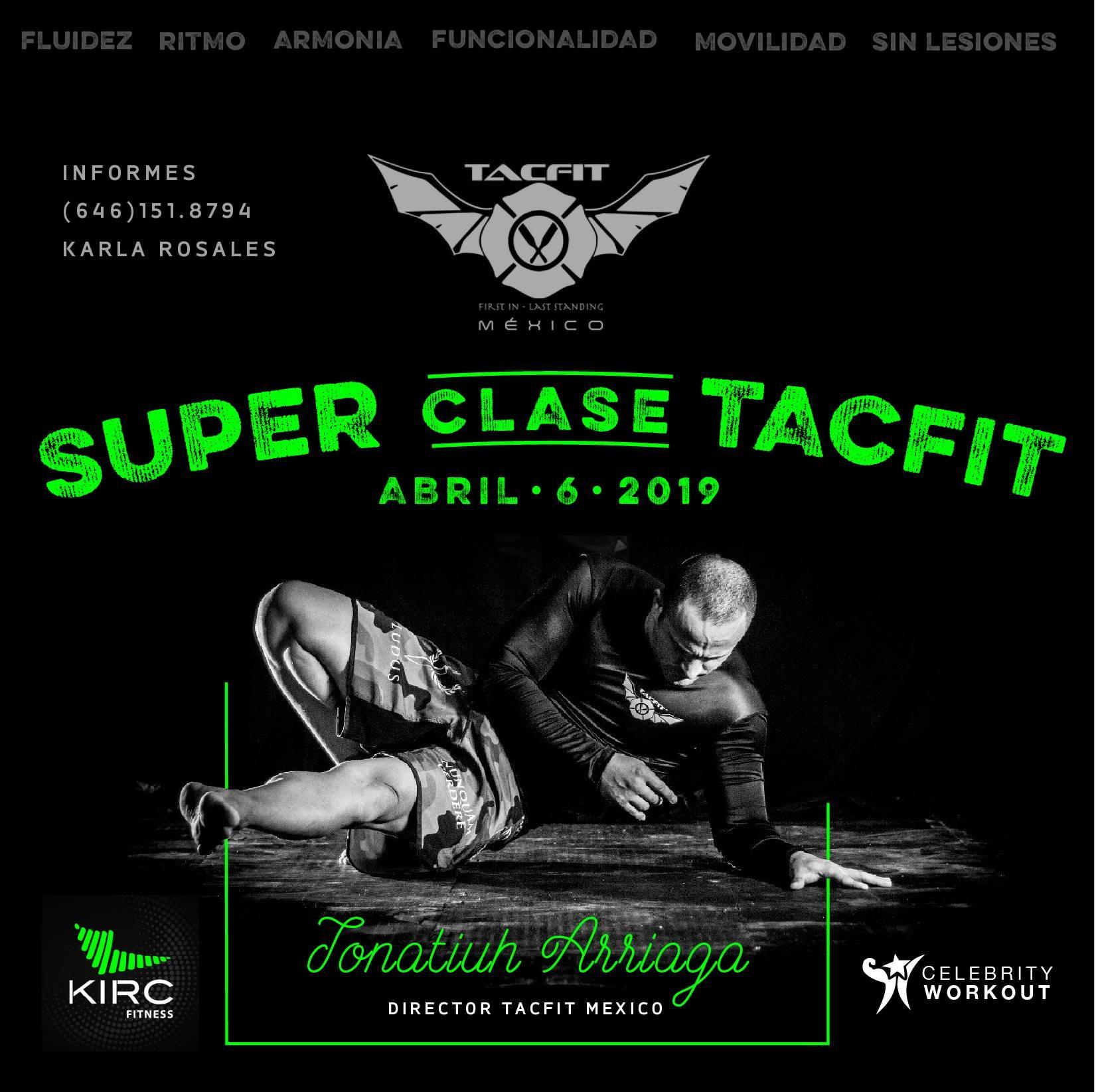 Tacfit Super Clase Tijuana Tijuana Baja California San Diego [6 April]