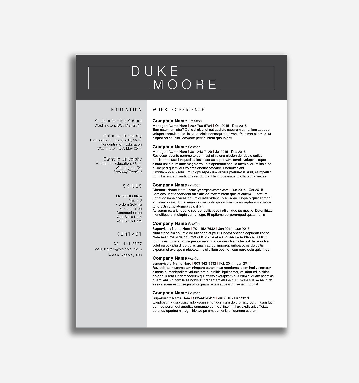 Fac Simile Curriculum Vitae Gratis – Letter Example format Part 358 procedente de calendario 2019 word
