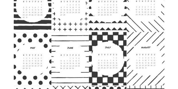 Calendario Mensual 2019 Para Imprimir En A3 Más Populares Free Printable 2017 Calendar Printables Pinterest