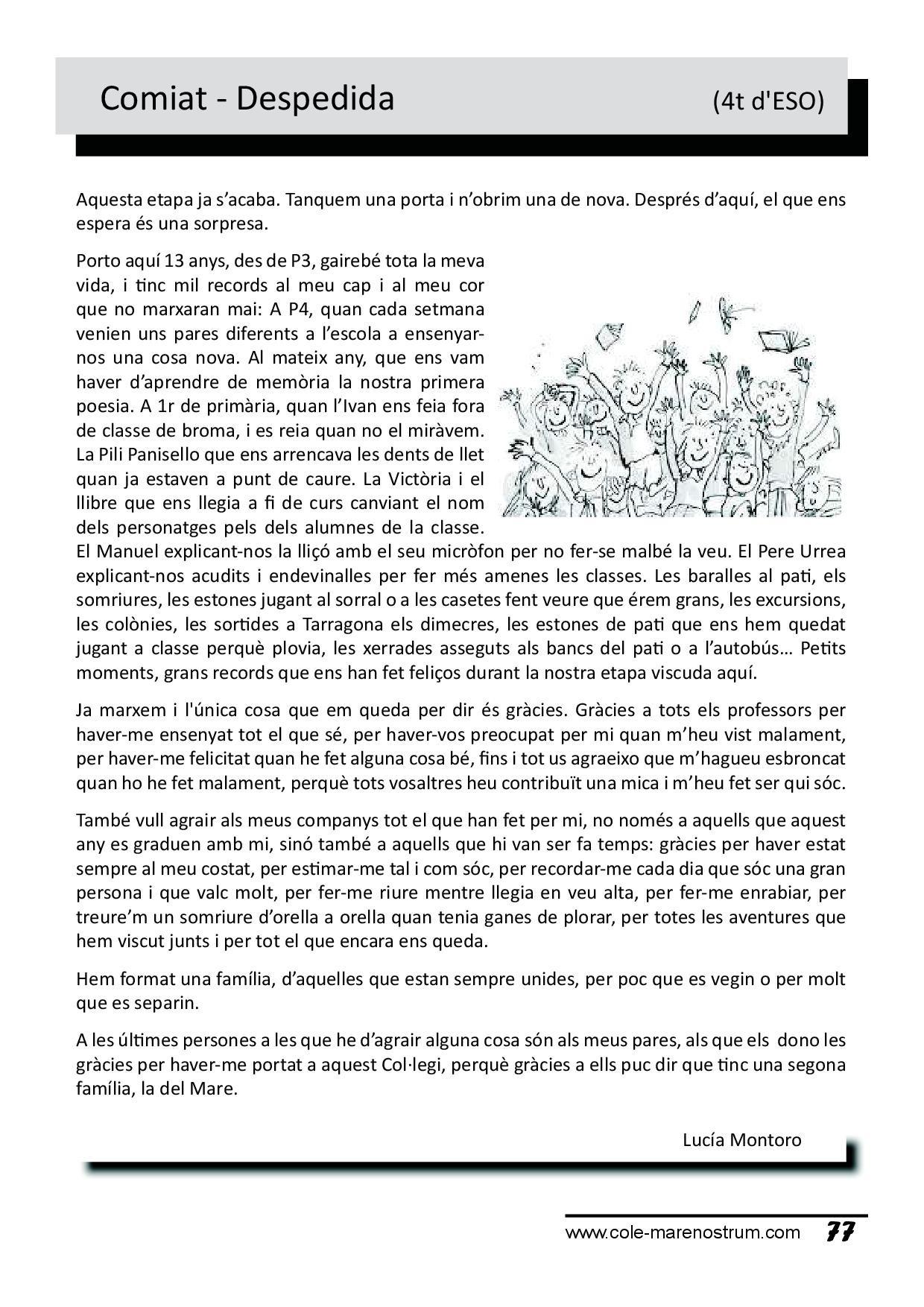 Calendario Noviembre 2019 Con Festivos Más Caliente La Revista Del Mare – Colegio Mare Nostrum