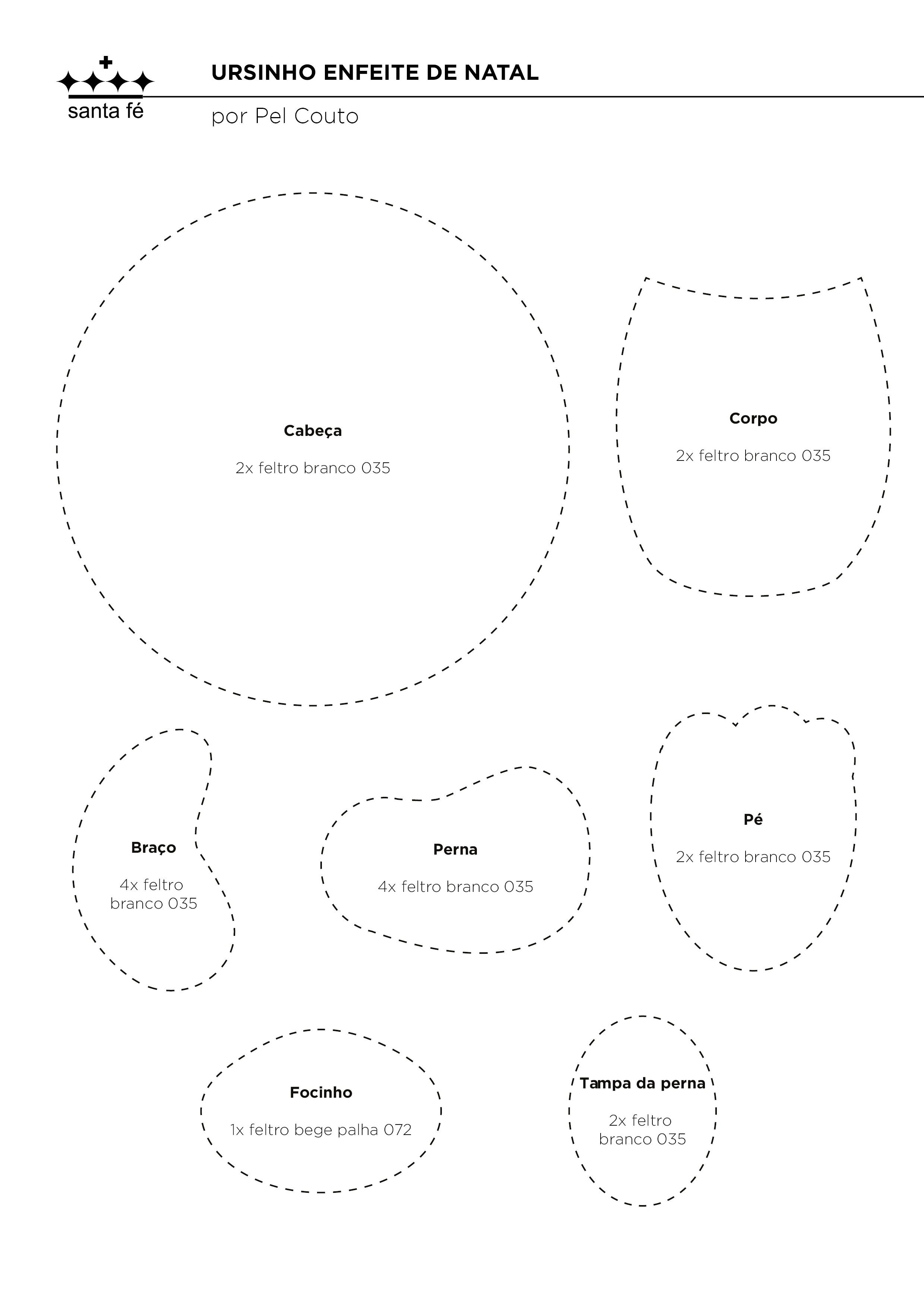 Calendario Para Imprimir 2017 Novembro Más Recientes Ursinho Enfeite De Natal Pel Couto Feltros Santa Fé Of Calendario Para Imprimir 2017 Novembro Actual 424 Best Planner Ideas Images On Pinterest