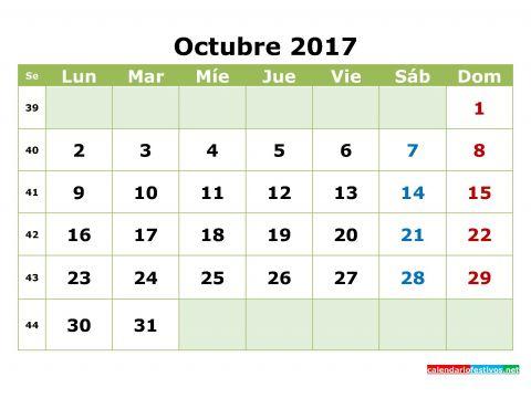Calendario Para Imprimir 2017 Octubre Más Populares Sin Embargo Este Es Calendario Imprimir 2017 Pdf
