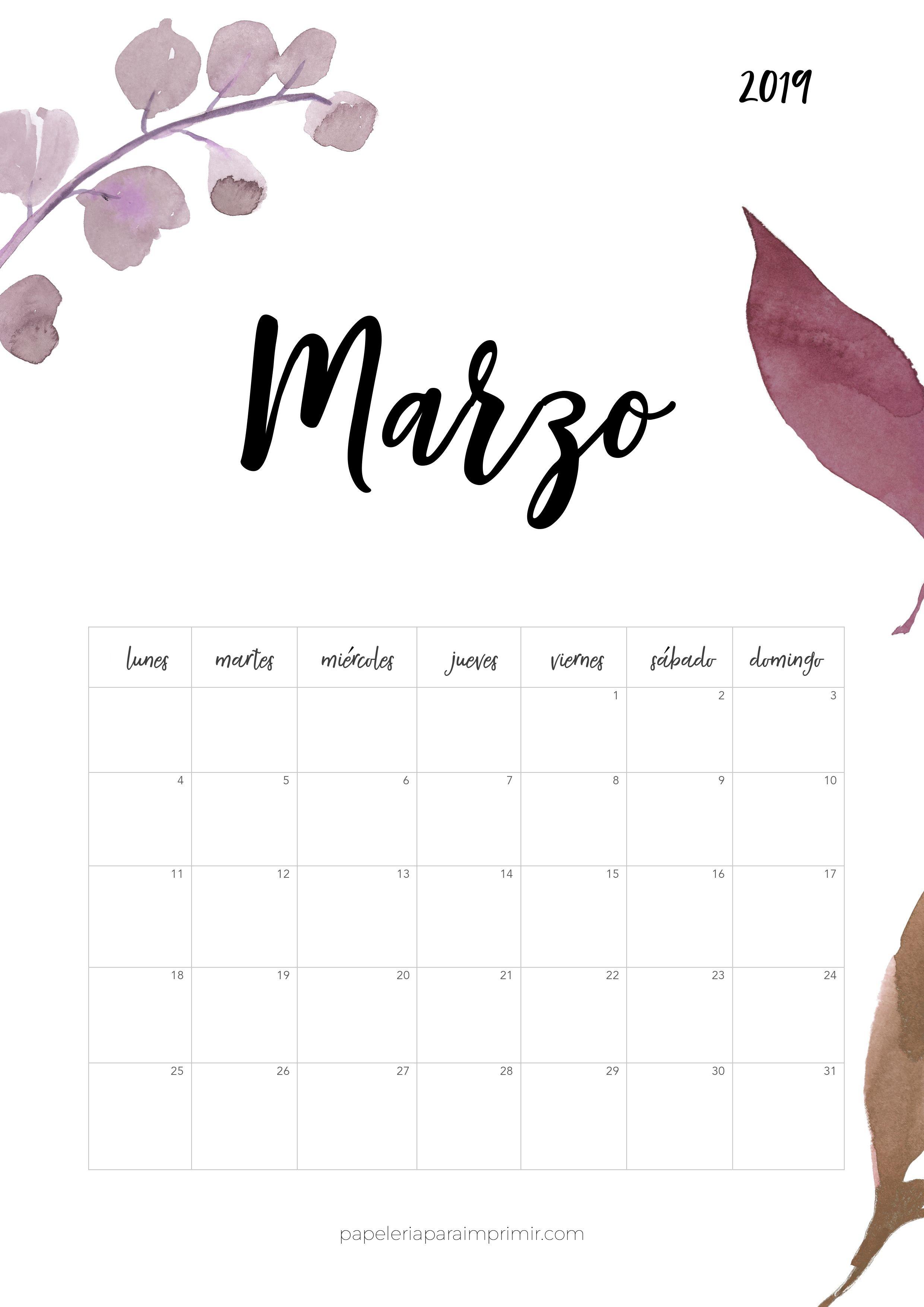 Calendario Para Imprimir 2019 Abril Más Recientes Calendario Para Imprimir 2019 Marzo Calendario Calendar