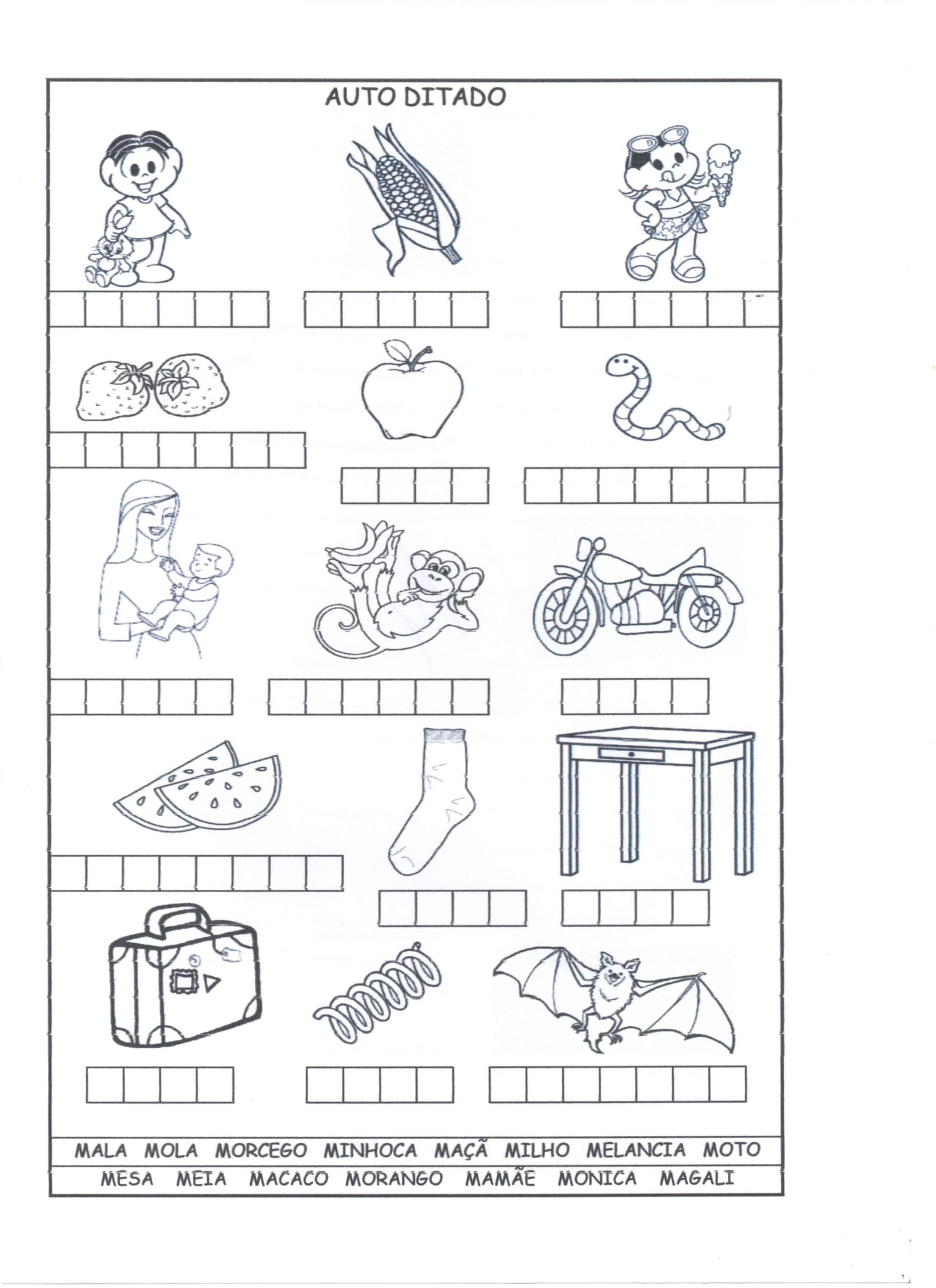 Calendario Para Imprimir 2019 Turma Da Monica Mejores Y Más Novedosos atividades Banco De Palavras • Alfabetiza§£o Blog