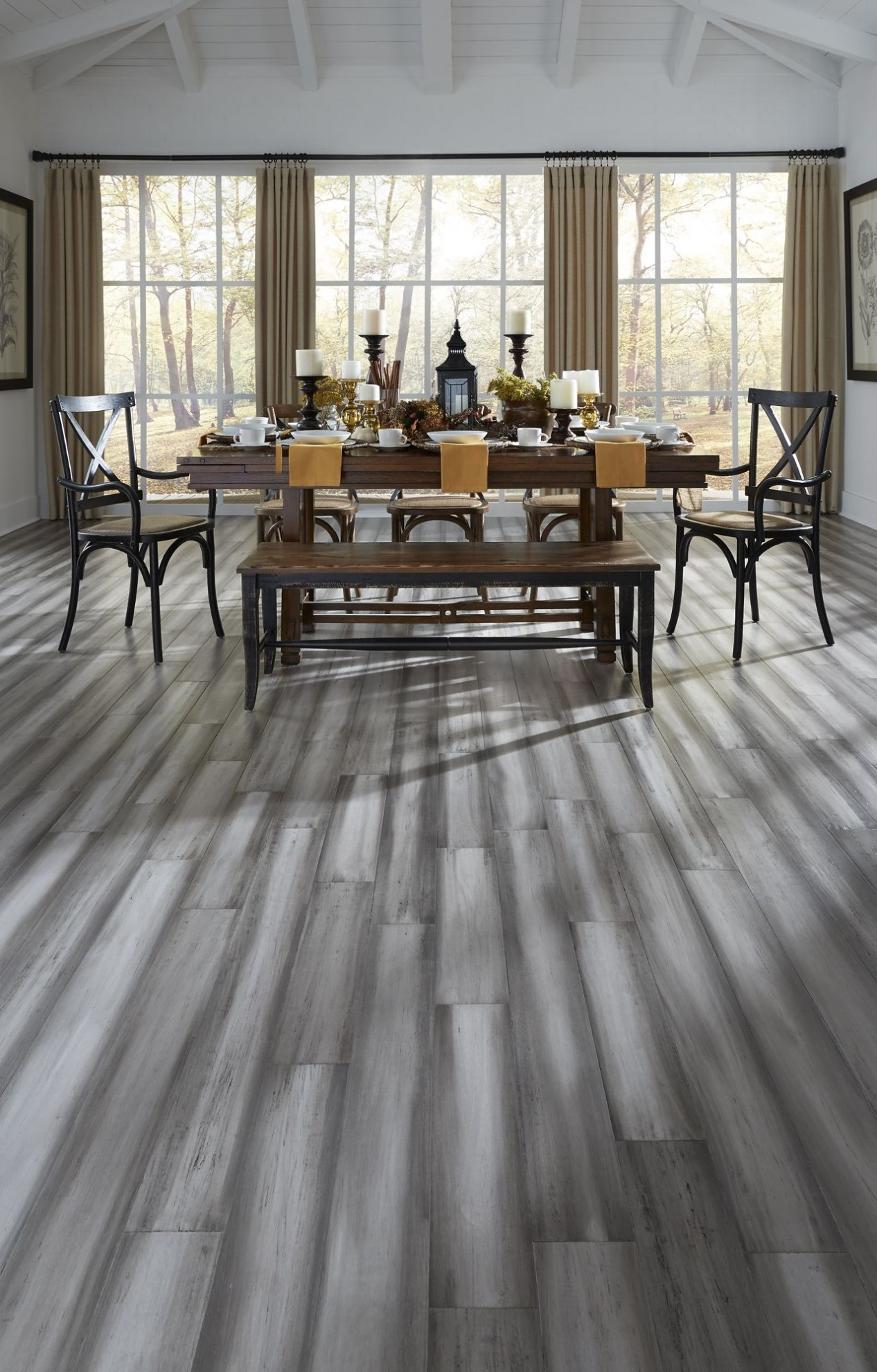 Modern Design and Rustic Texture the Blend Light and Dark Gray o Poner Tarima