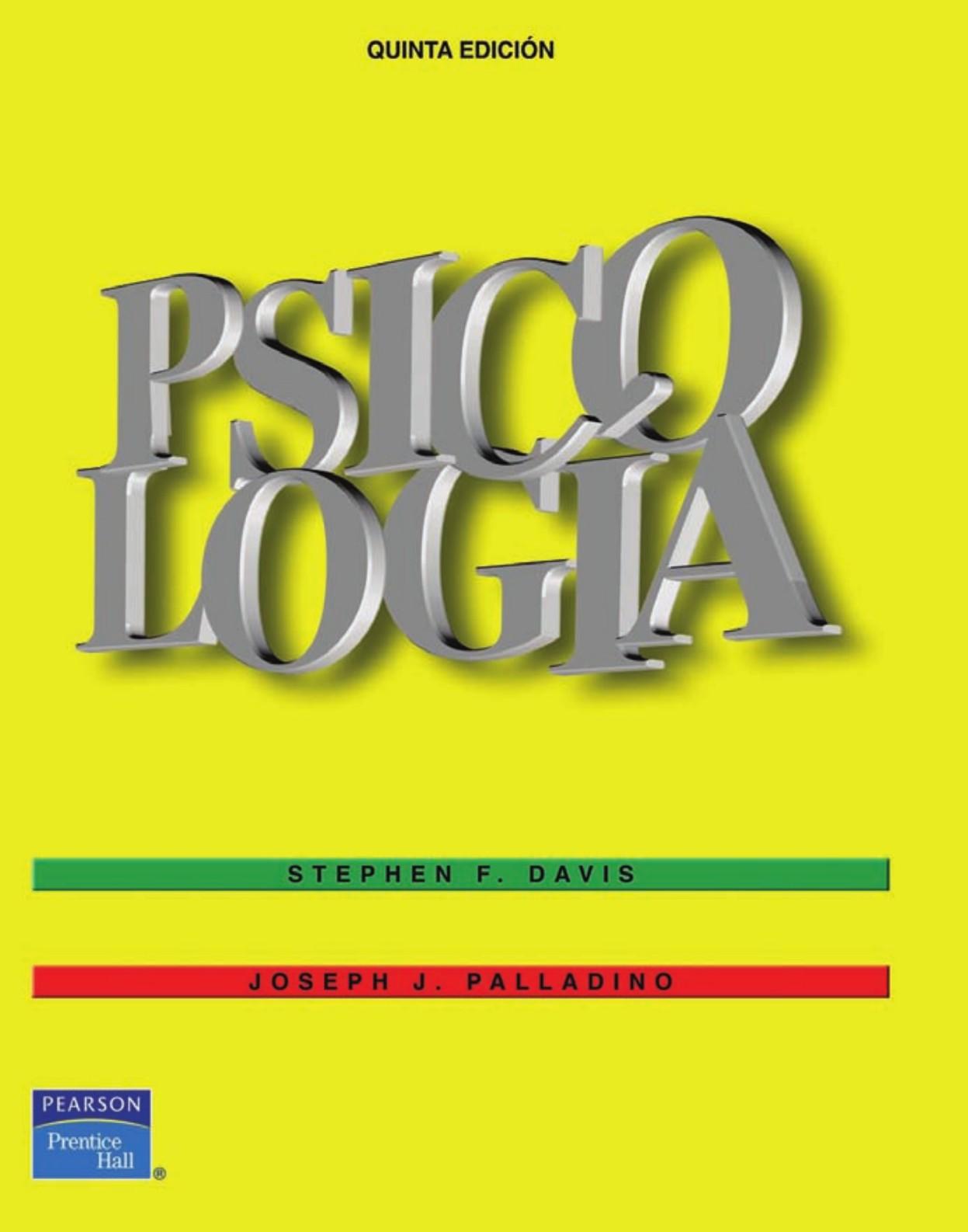 Psicologia S davis y Palladino