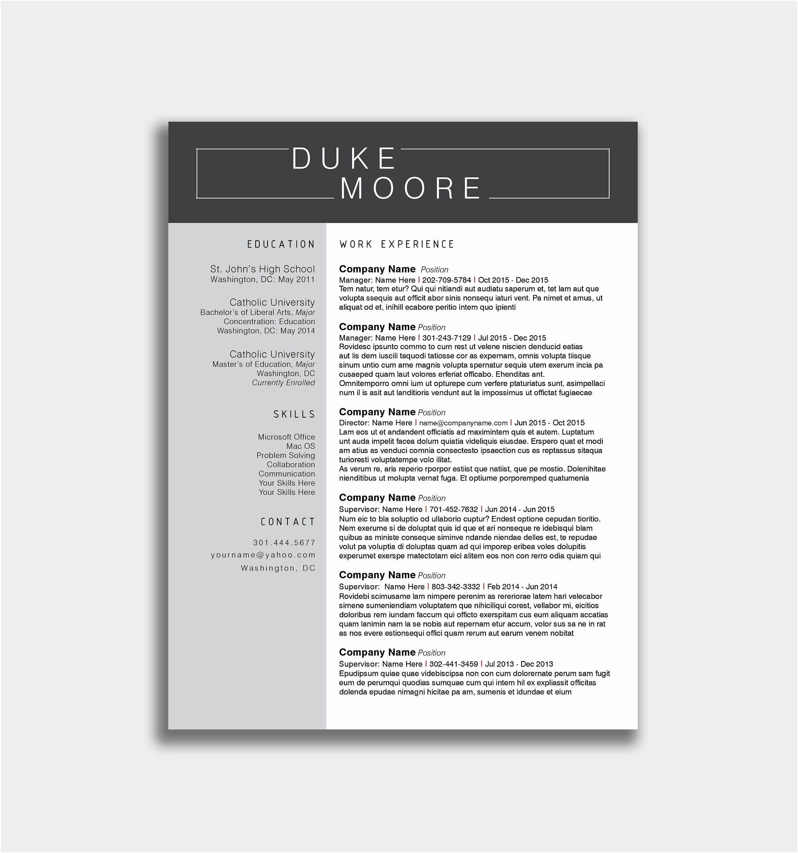 Curriculum Vitae En Word Para Descargar Gratis Curriculum Vitae