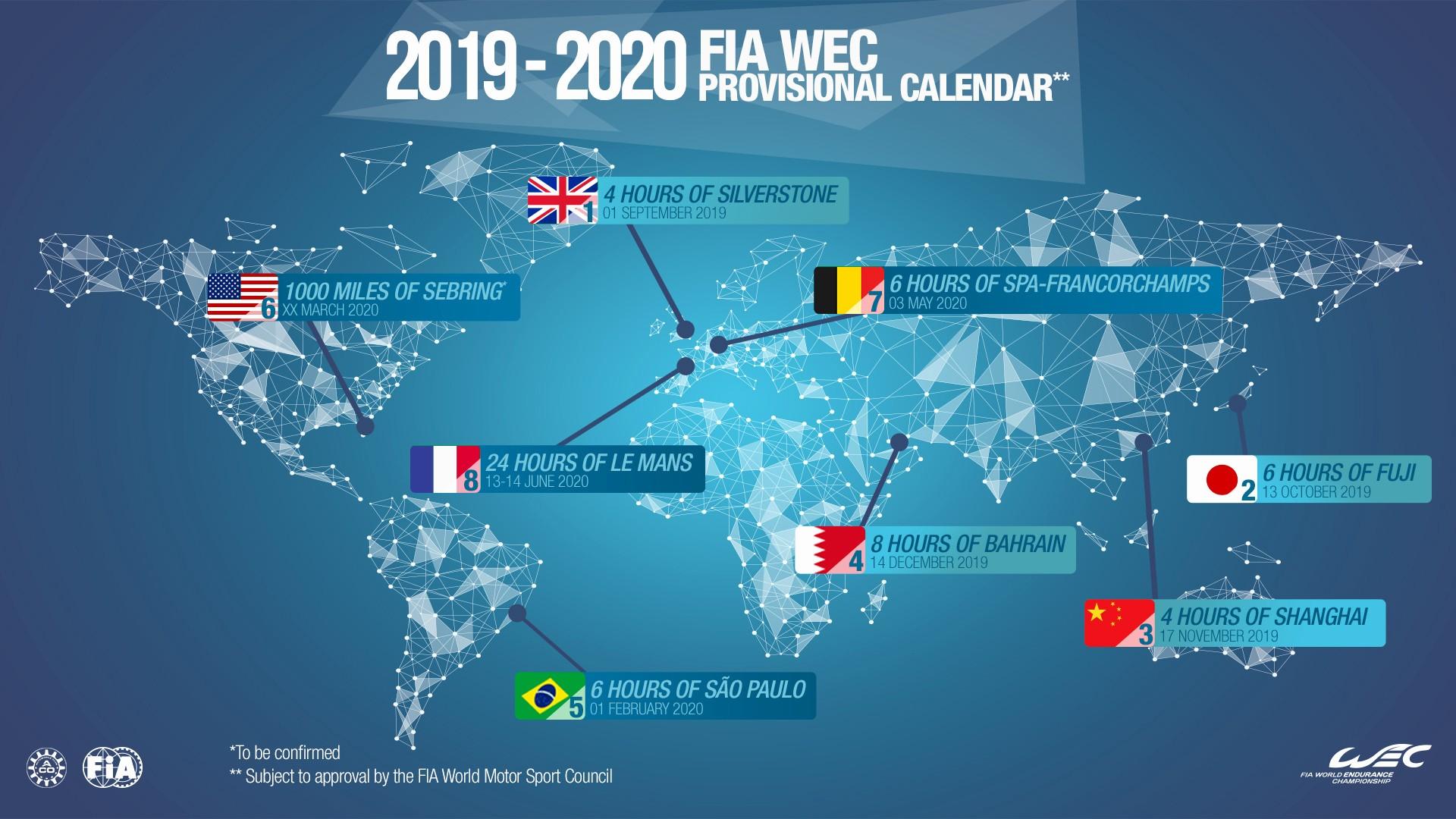 calendario campeonato de drones 2019 calendario campeonato de drones 2019 wec 2019 2020 oito corridas e o regresso de brasil e bahrain