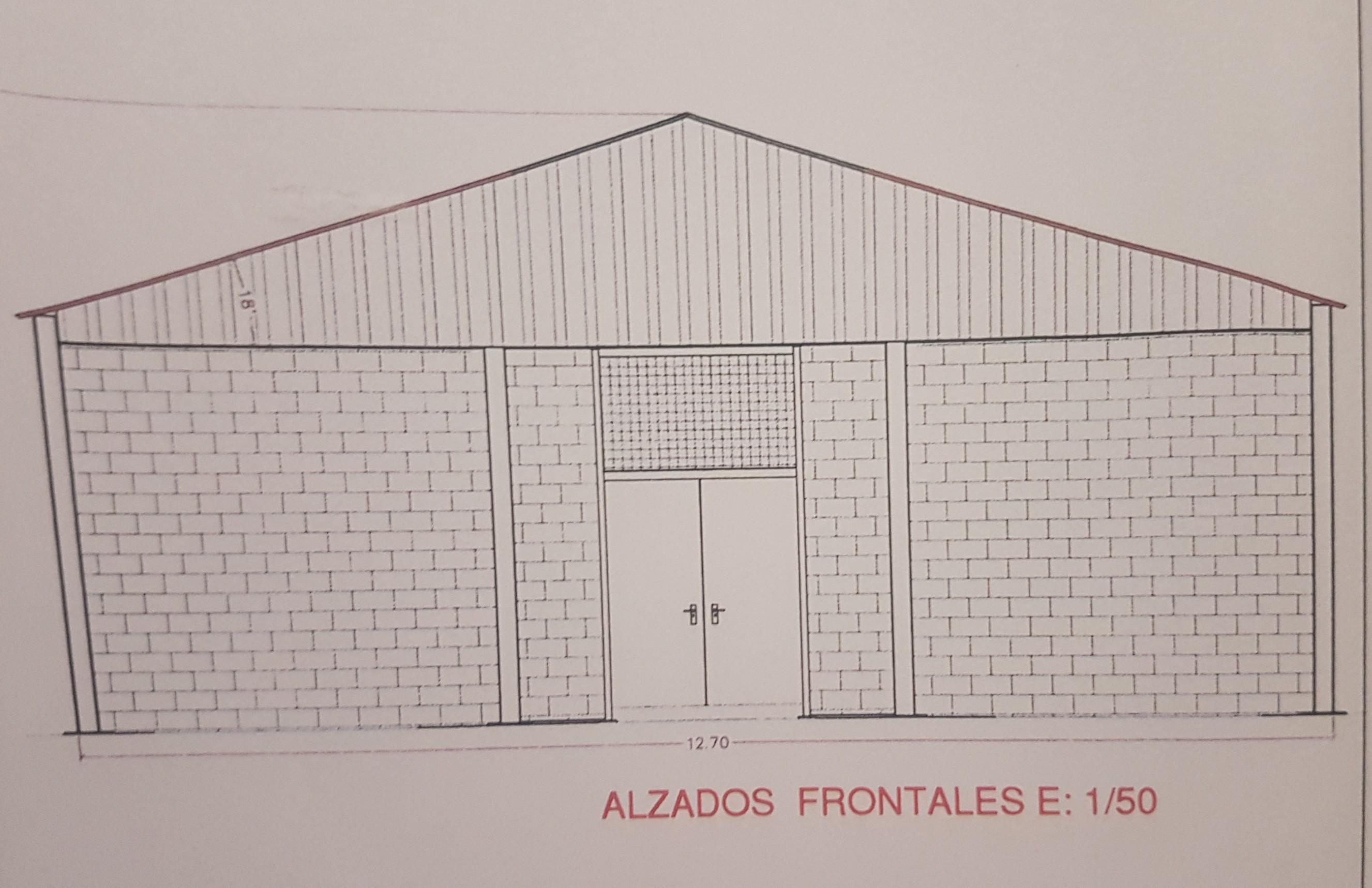 El Ayuntamiento con fondos propios junto con el CEIPSO Eugenio Muro están realizando obras en el edificio de primaria para la construcci³n de una pista