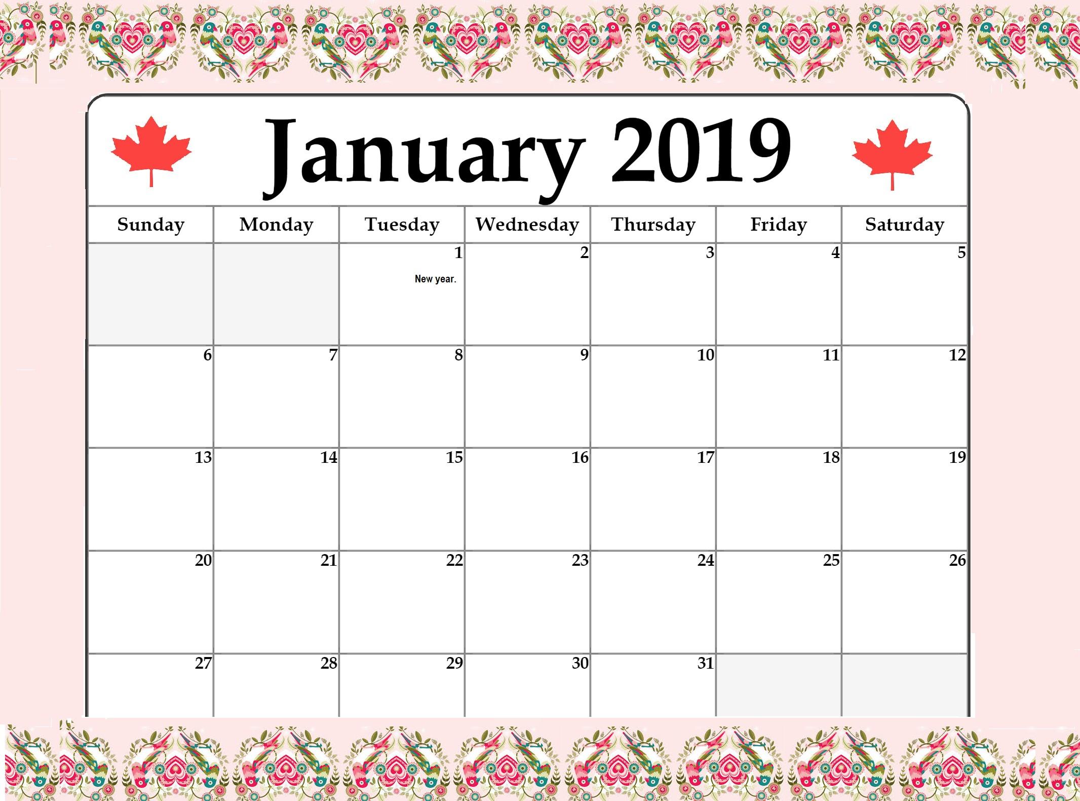 Calendario Pis 2018 Ou 2019 Más Caliente January 2019 Local Holiday Canada Calendar Of Calendario Pis 2018 Ou 2019 Más Populares 2018 Printable Calendar Pdf Fresh June 2019 Printable Calendar – the