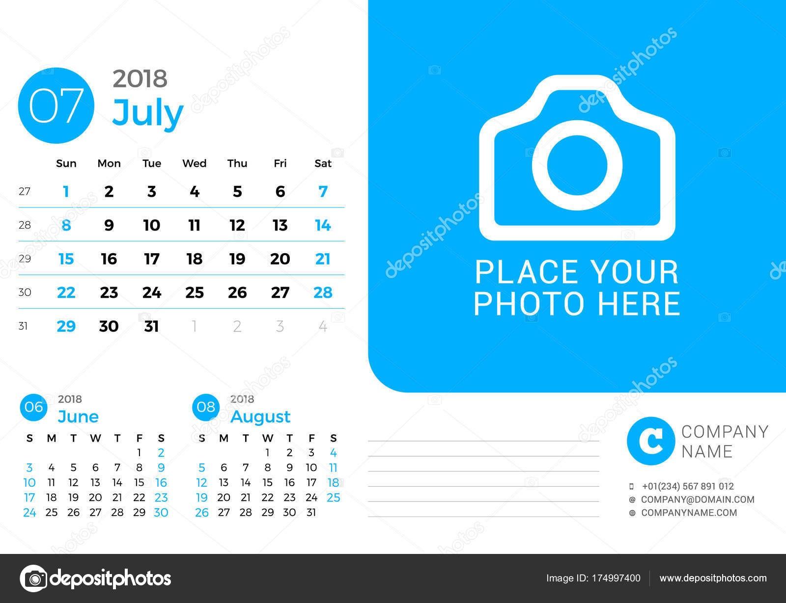 Calendario Julio 2016 Con Notas Para Imprimir July Calendar