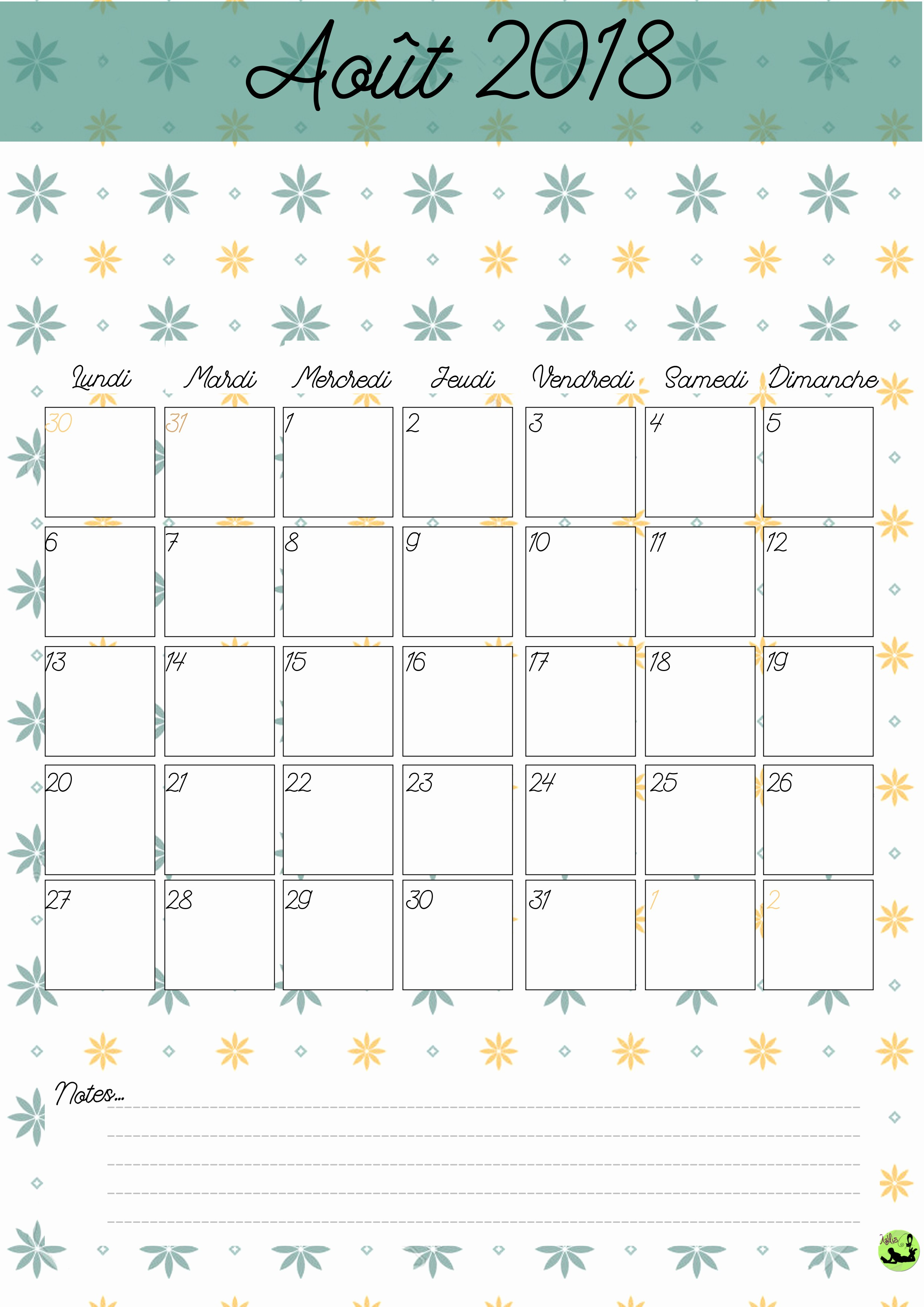 Du Calendar Calendrier 2017 2018 Gratuit A Imprimer