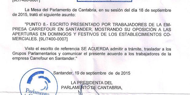 Calendario Septiembre 2019 Feriados Recientes Secci³n Sindical Ugt Carrefour Pe±acastillo La Mesa Del Parlamento