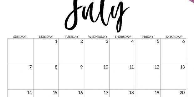 Calendarios 2019 Para Imprimir Bonitos Pdf Actual Details