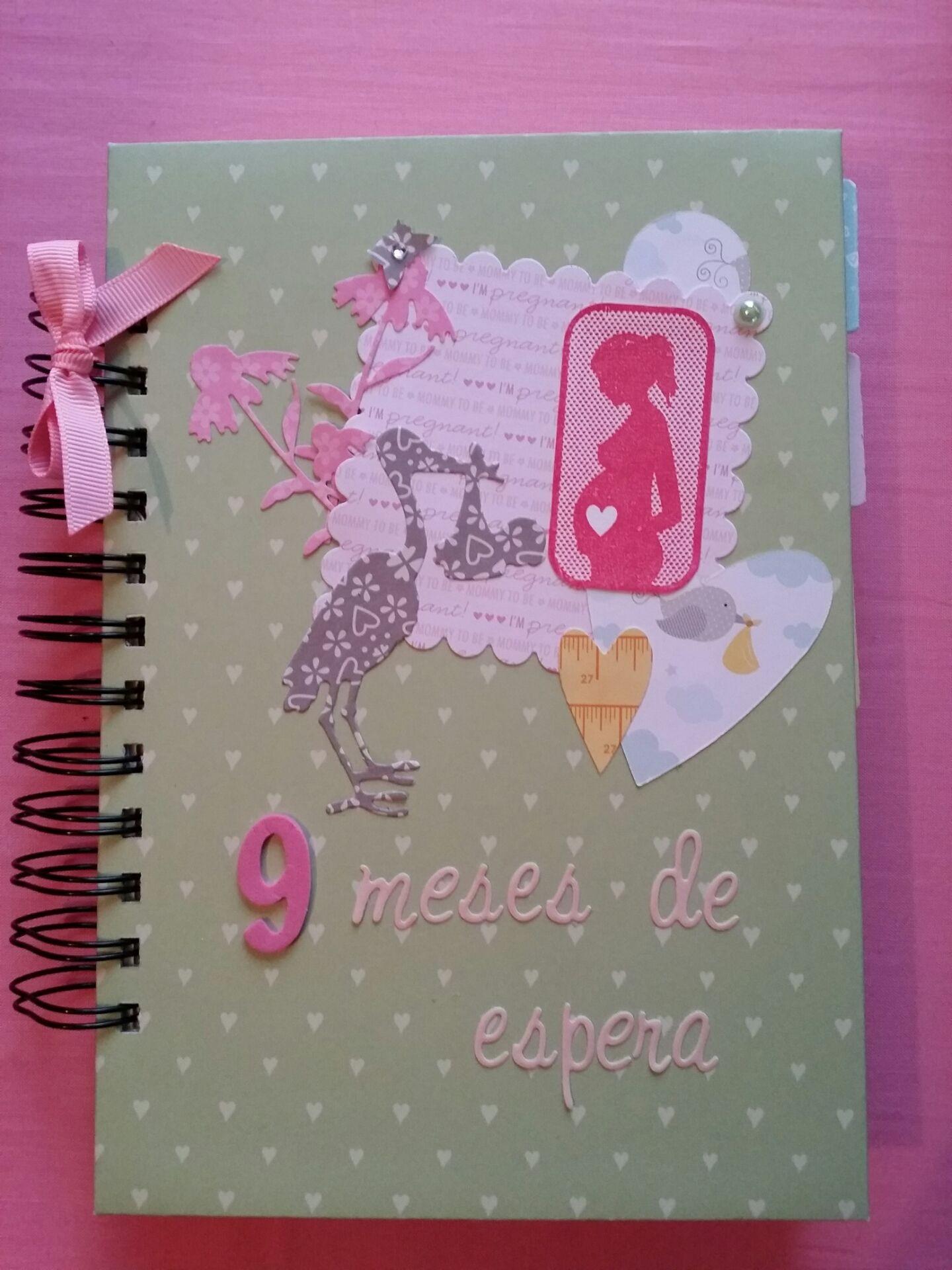 Diario de embarazo scrap