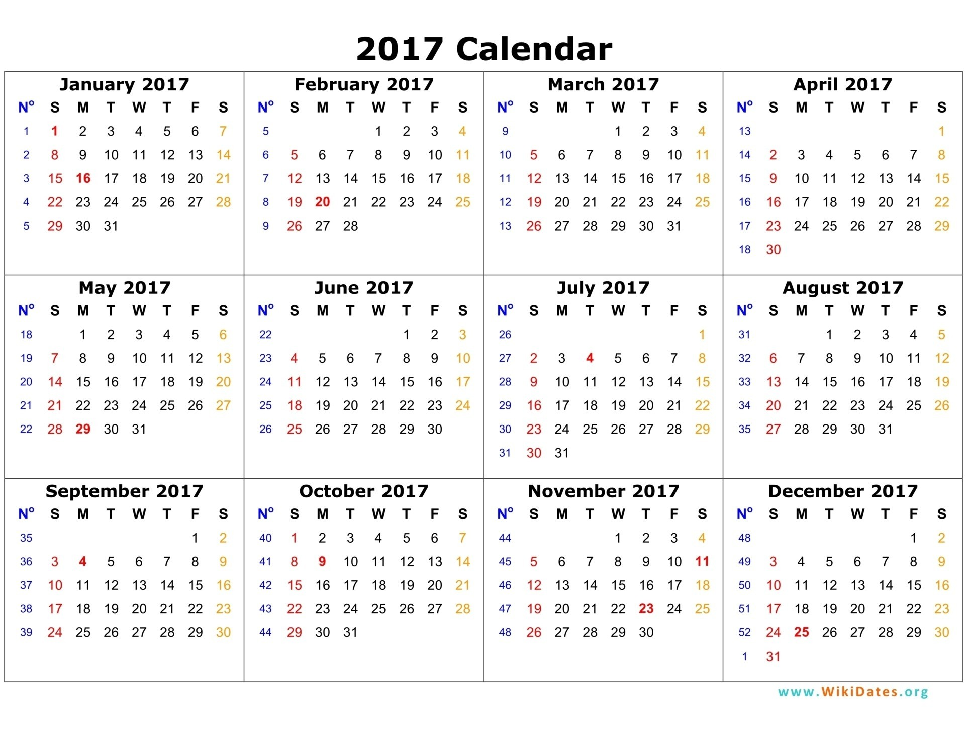 2017 calendar pdf free dating siderco 10