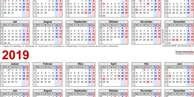 Download Kalender 2019 Pdf Más Recientes Kalender 2018 Querformat Drucken
