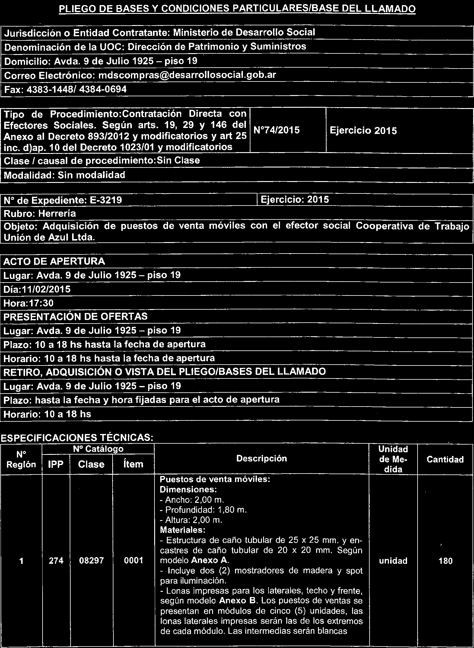 "Pág I I JEFATURA DE GABINETE DE MINISTROS Decreto 958 2015 Bs As 28 5 2015 LA PRESIDENTA DE LA NACI""N ARGENTINA DECRETA PDF"