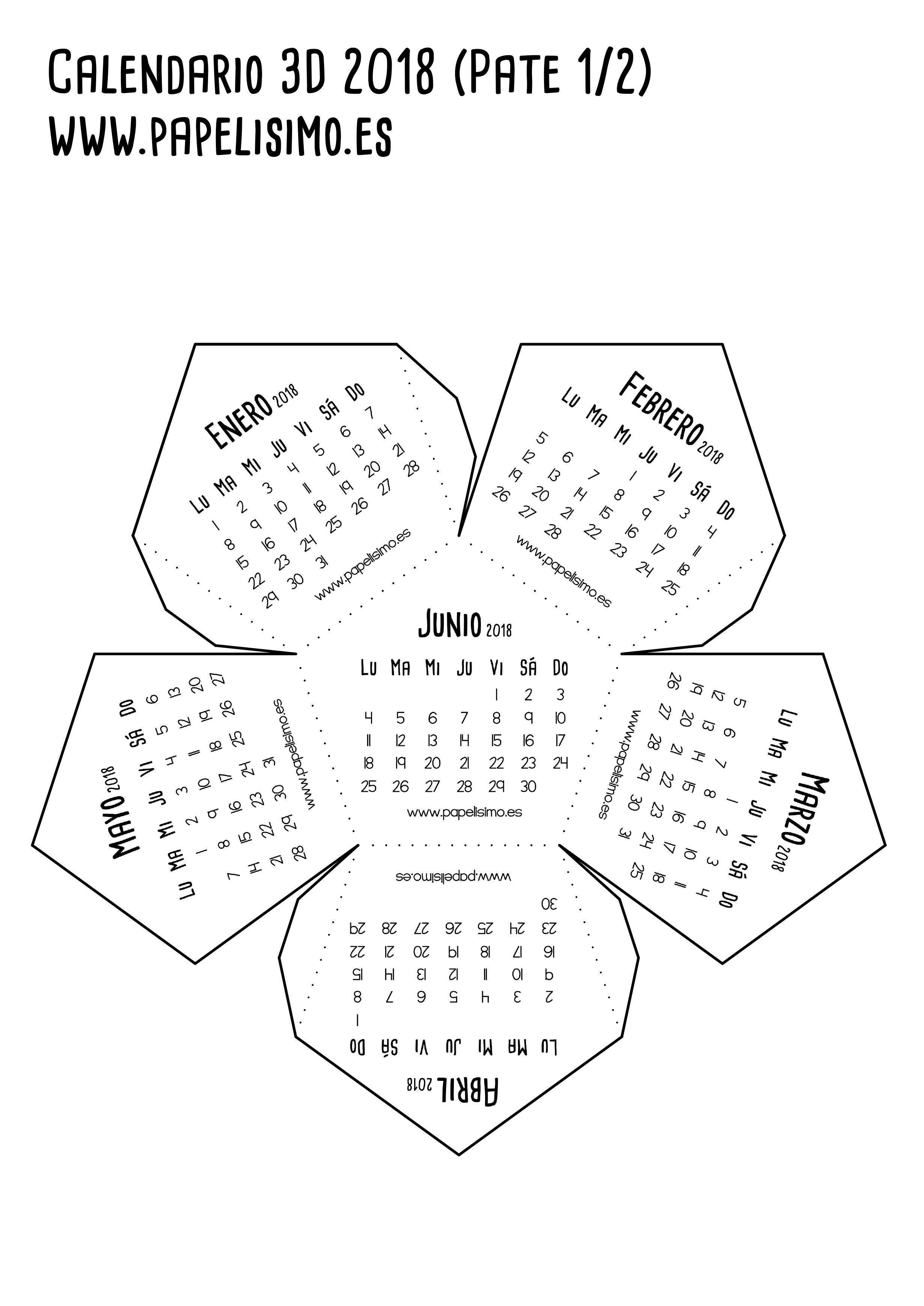 Hacer Calendario Imprimir Más Recientes Calendario 3d 2018 Pdf Para Imprimir Parte 1 2 461—3 480 Pxeles