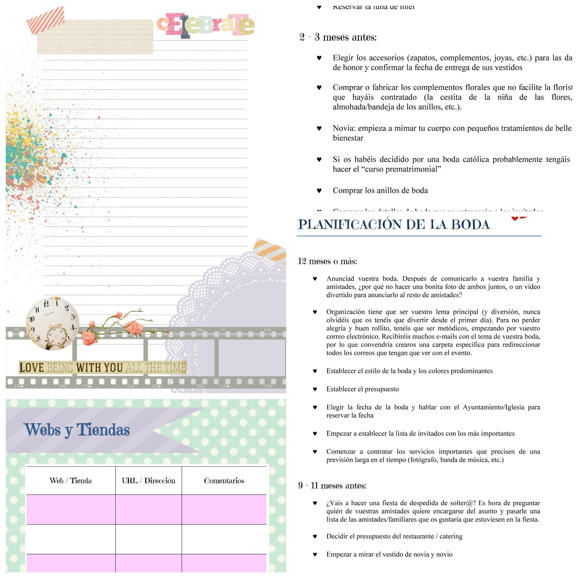 Crear De Boda Gratis Para Imprimir Para El Da De La Boda With Crear