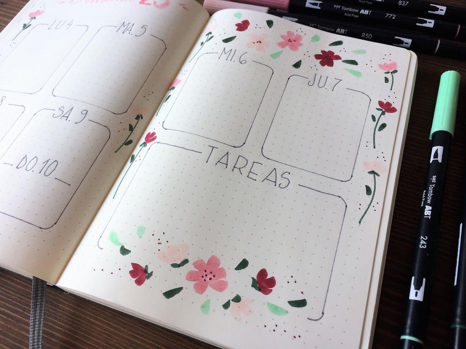 """Imprimir Calendario 2019 Tumblr Mejores Y Más Novedosos Bullet Journal Edici""""n Junio Bullet Journal Pinterest Of Imprimir Calendario 2019 Tumblr Más Caliente Sea theme to Start March Dibujo"""