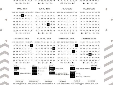 Imprimir Calendario De Novembro 2017 Más Populares Planner 2019 Panda Menino Calendario 2019 E 2020